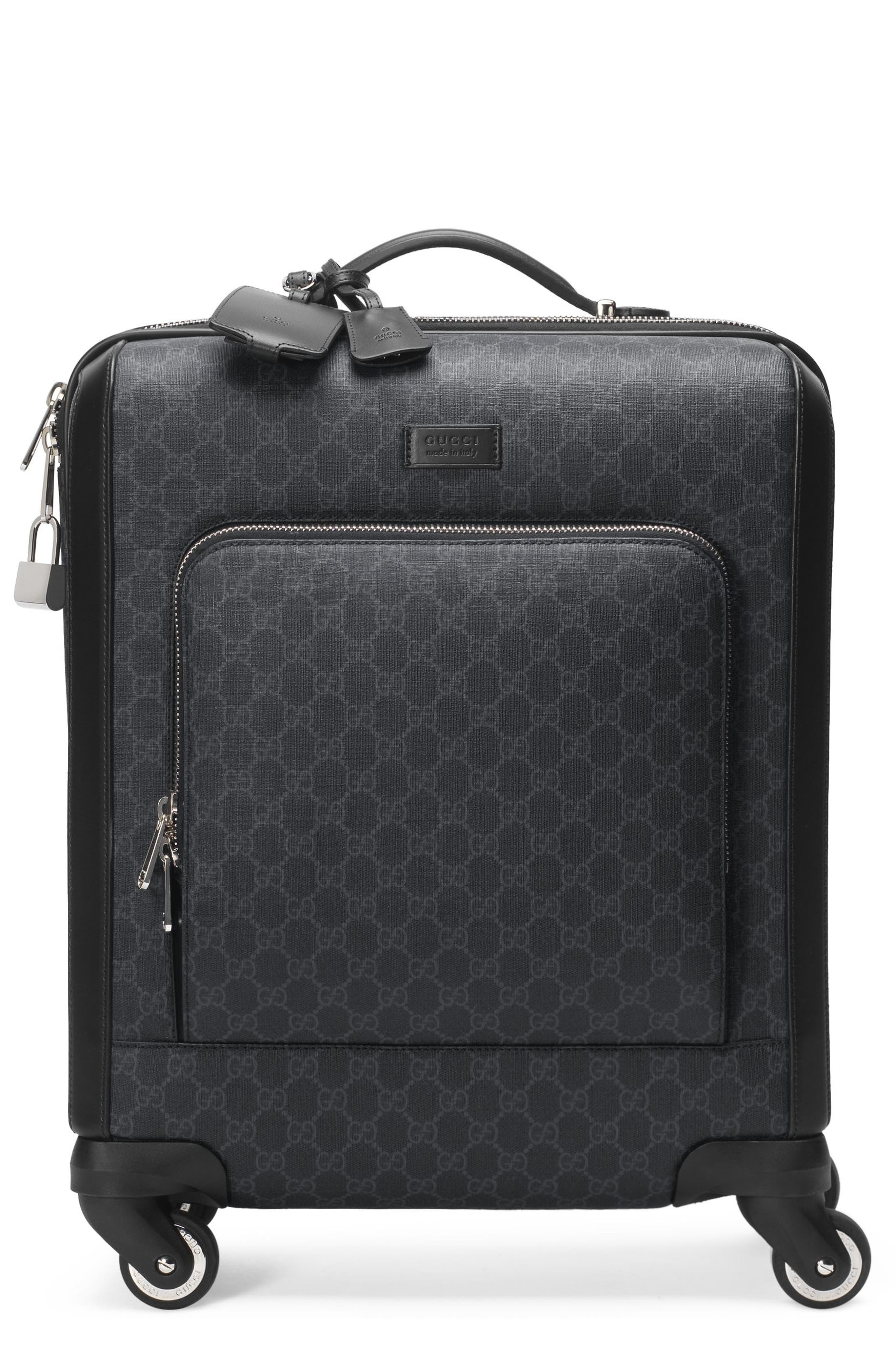 Gran Turismo Carry-On,                             Alternate thumbnail 9, color,                             Black