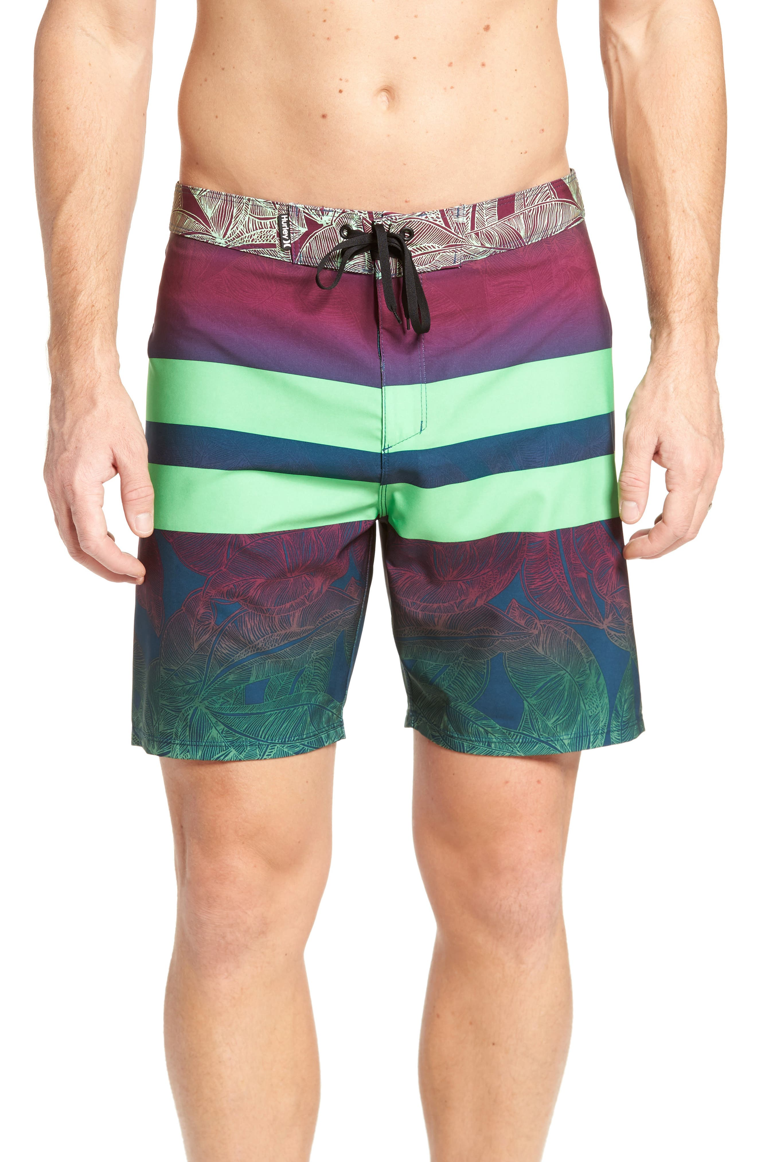 Alternate Image 1 Selected - Hurley Phantom Blackball Board Shorts