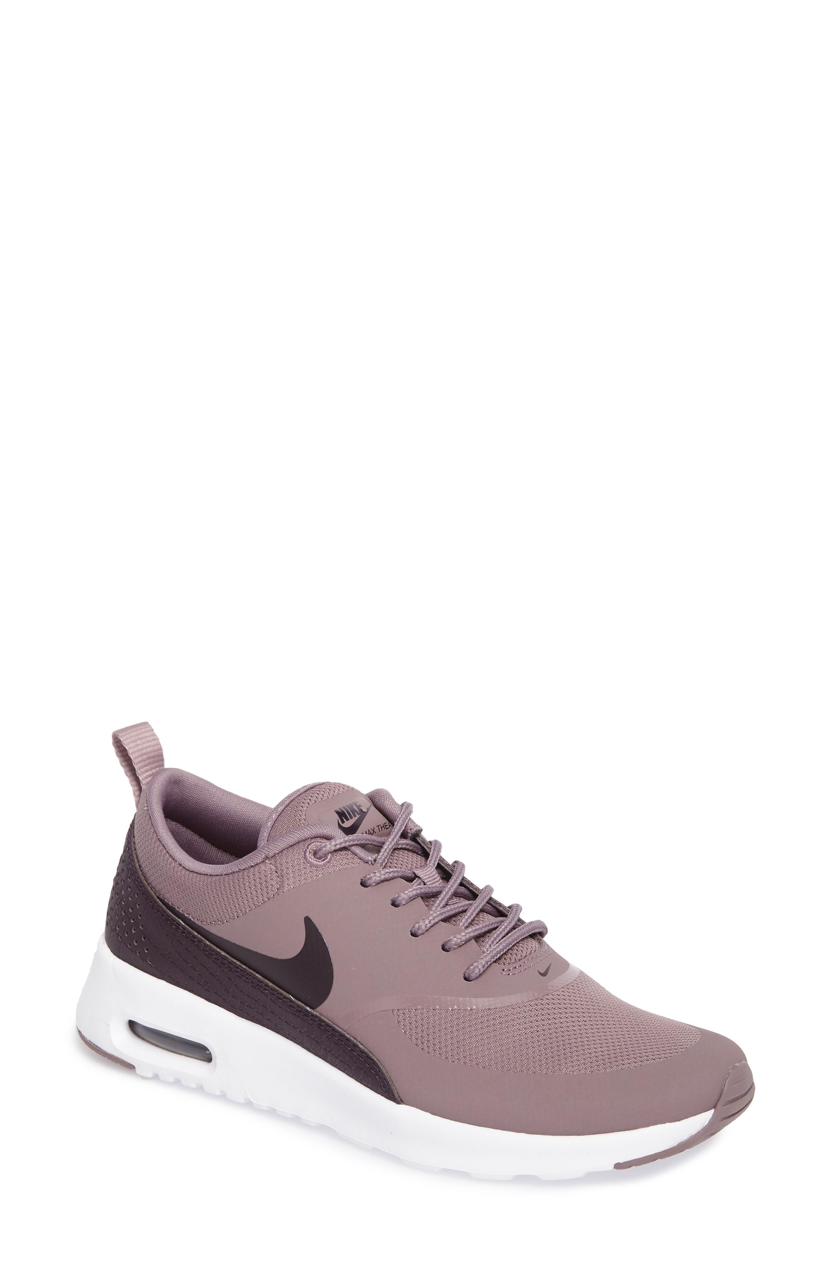 nike shoes air max womens white. main image - nike air max thea sneaker (women) shoes womens white l