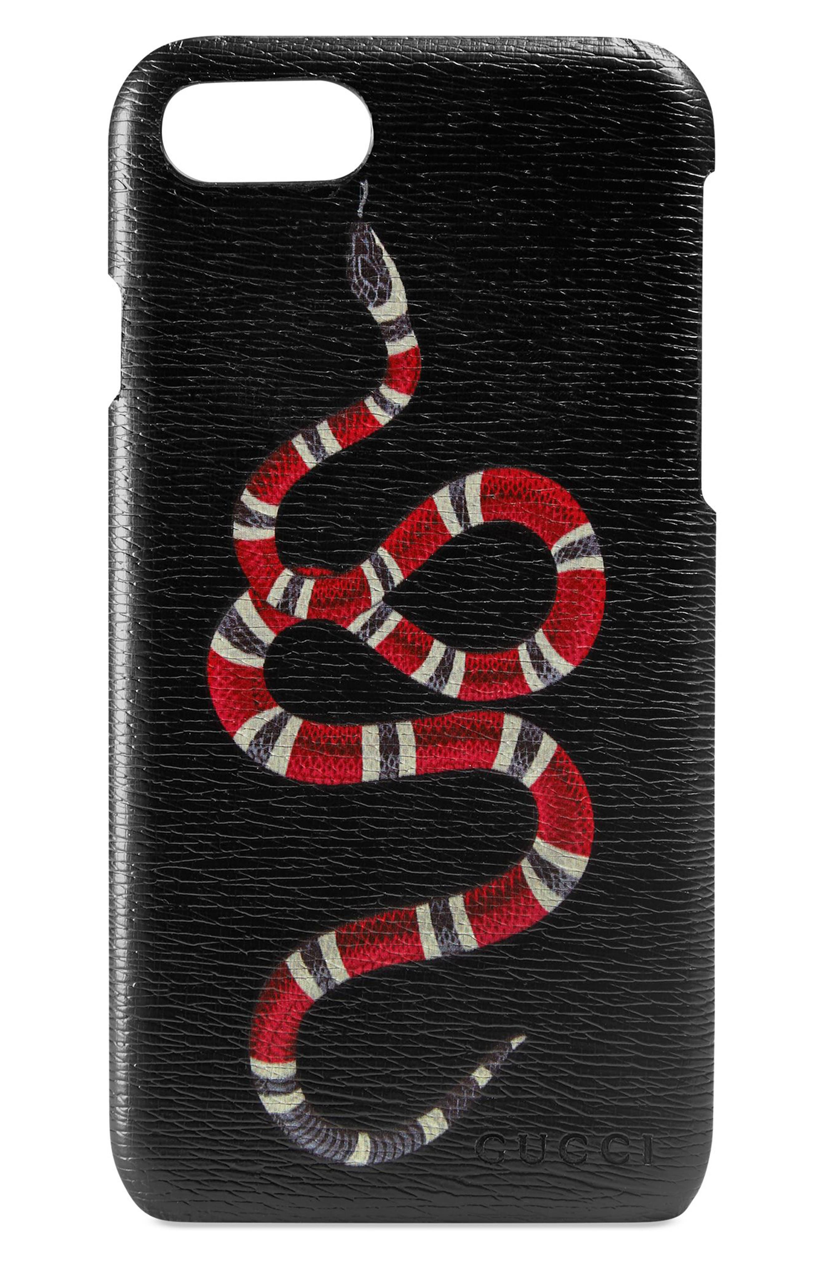 Alternate Image 1 Selected - Gucci Snake iPhone 7 Case