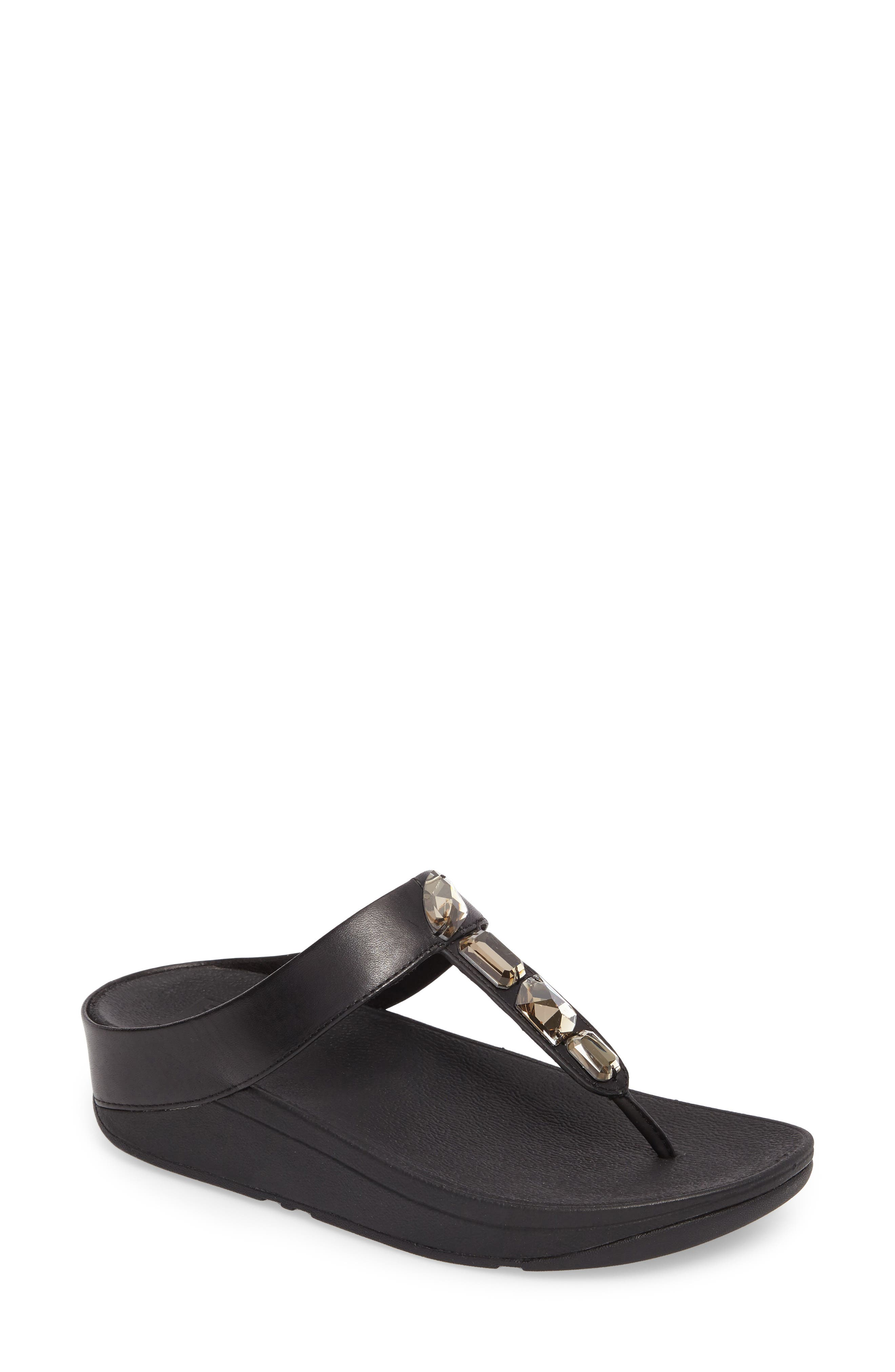 Roka Sandal,                         Main,                         color, Black