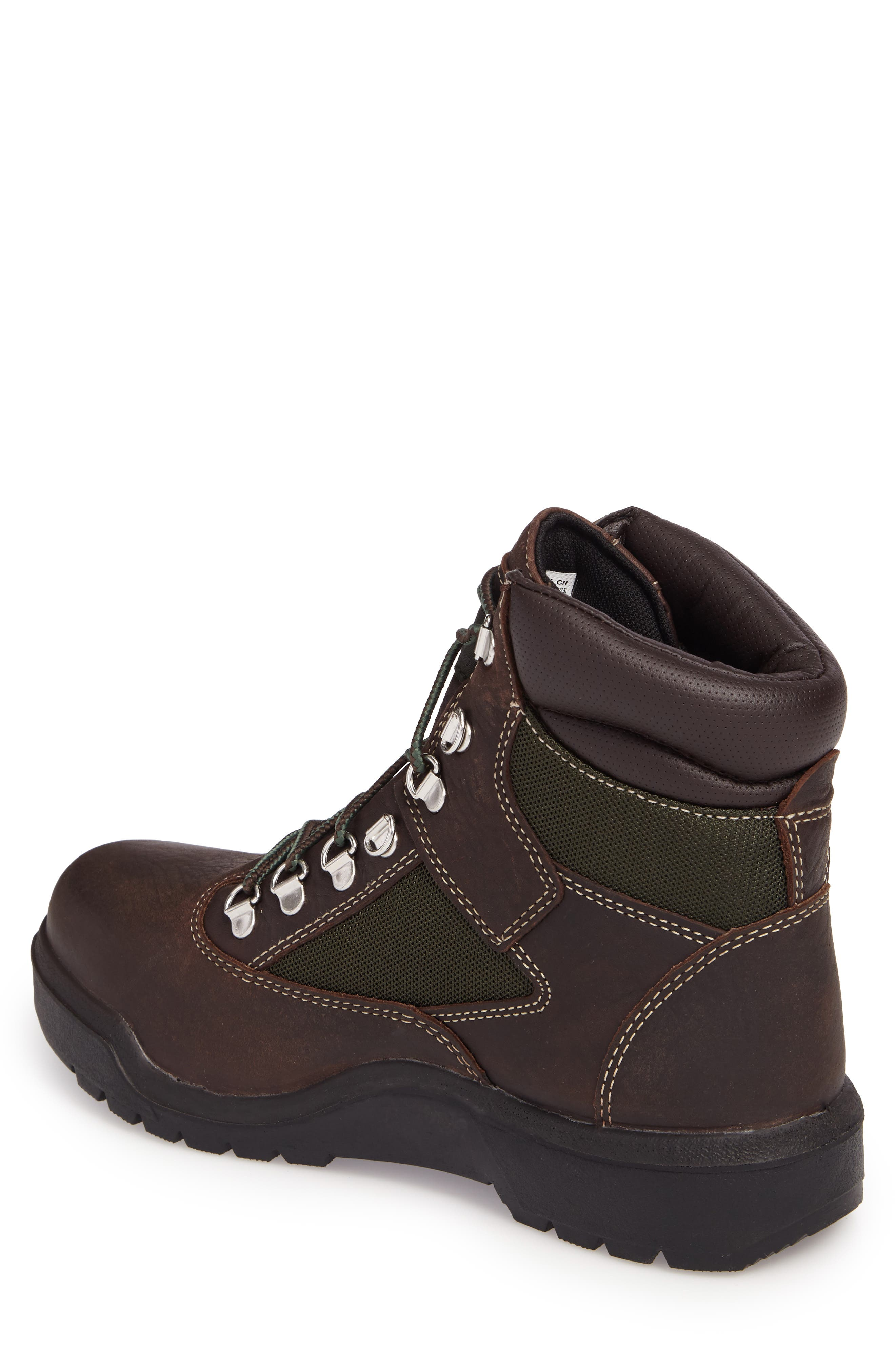 Field Waterproof Winter Boot,                             Alternate thumbnail 2, color,                             Hazel Highway Leather