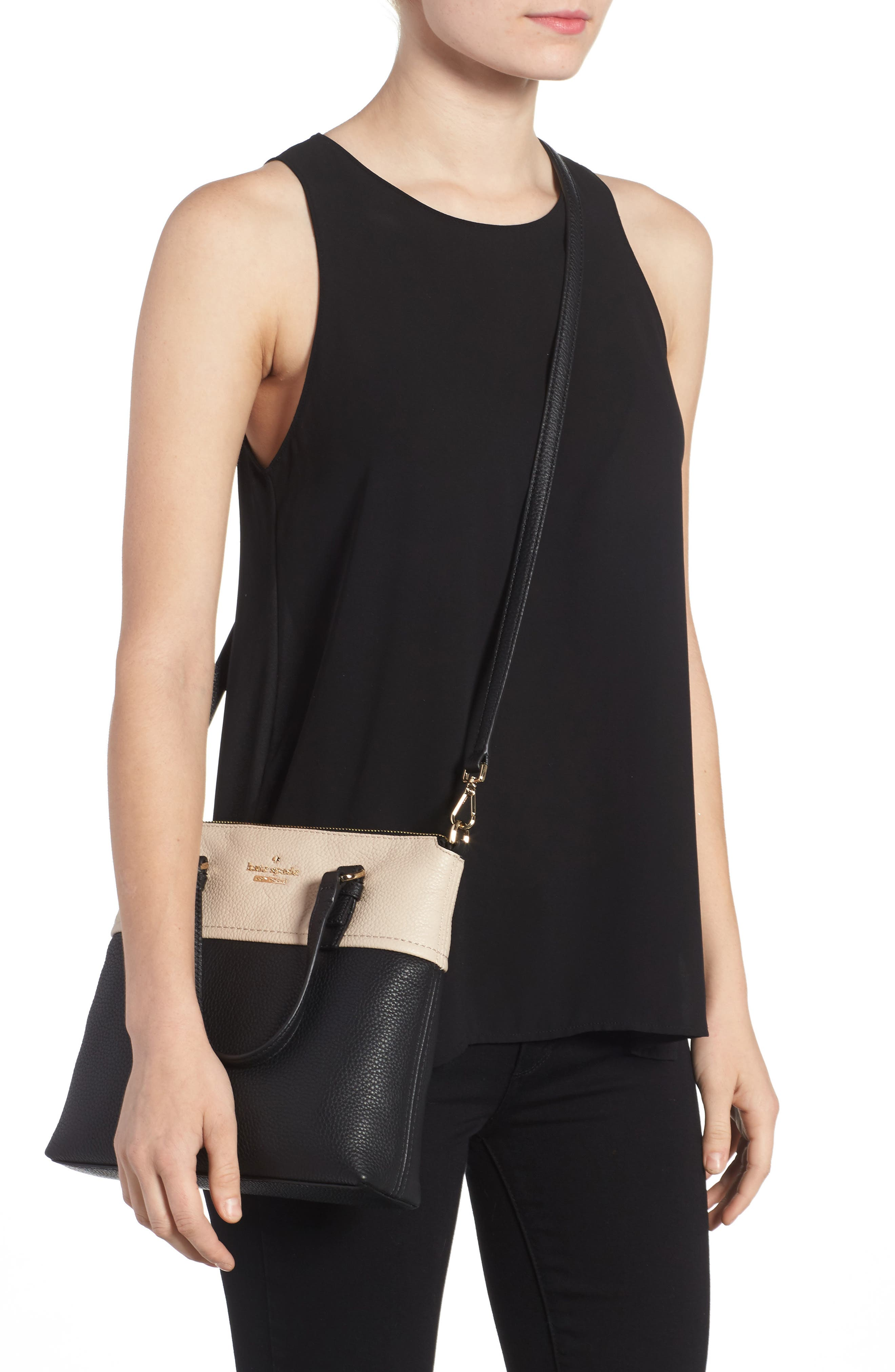 Alternate Image 2  - kate spade new york jackson street - hayley leather satchel