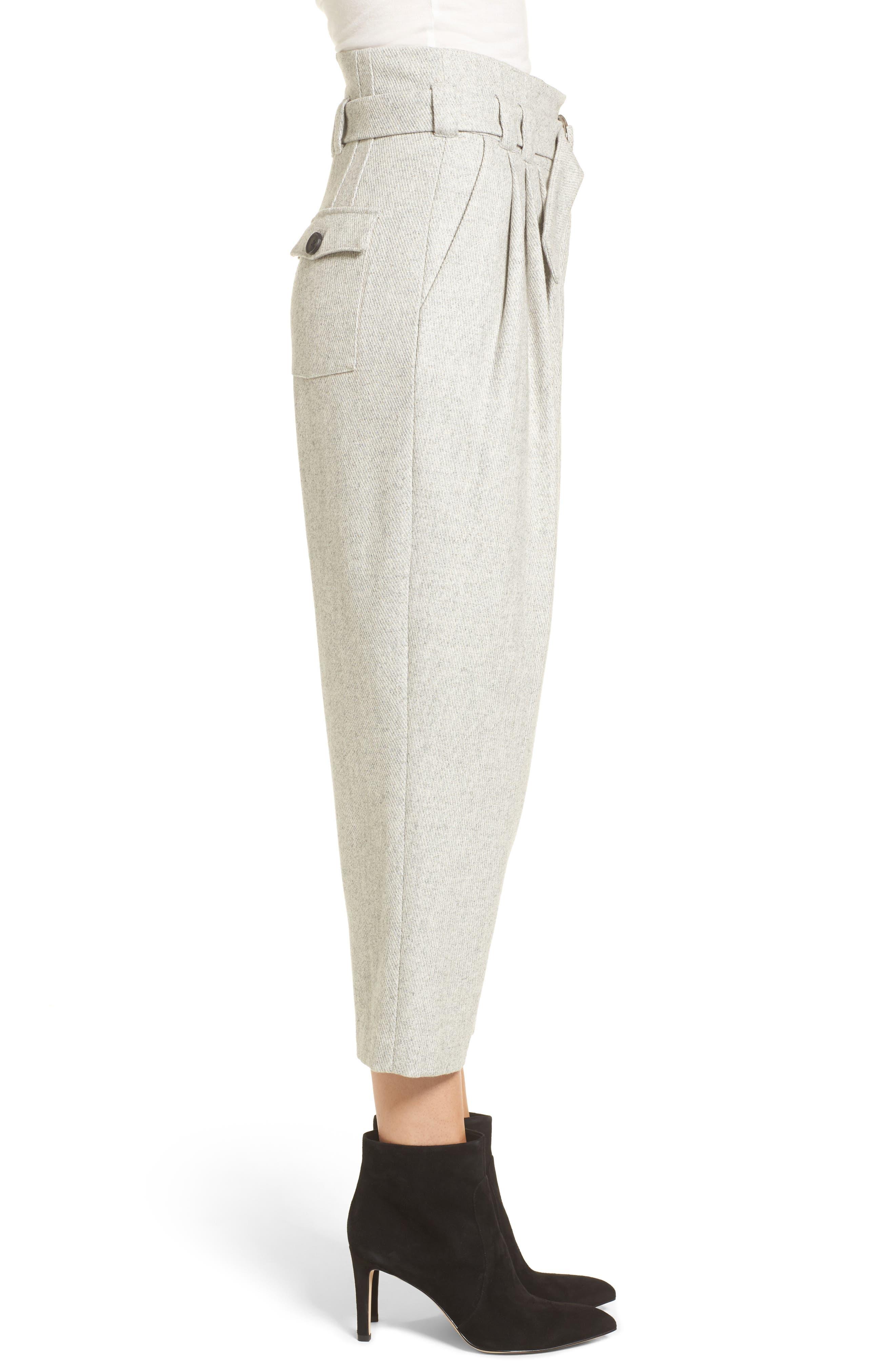 Alternate Image 4  - Line & Dot Bon Crop Pants