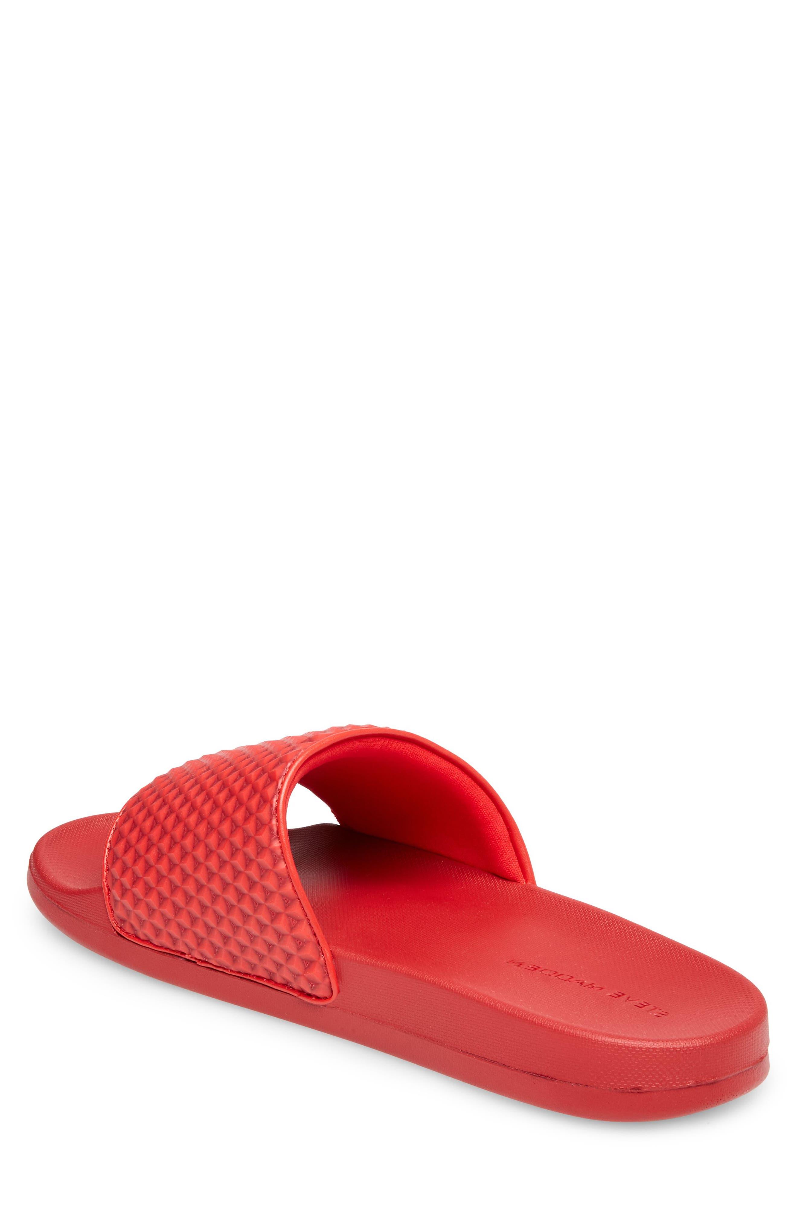 Riptide Slide Sandal,                             Alternate thumbnail 2, color,                             Red