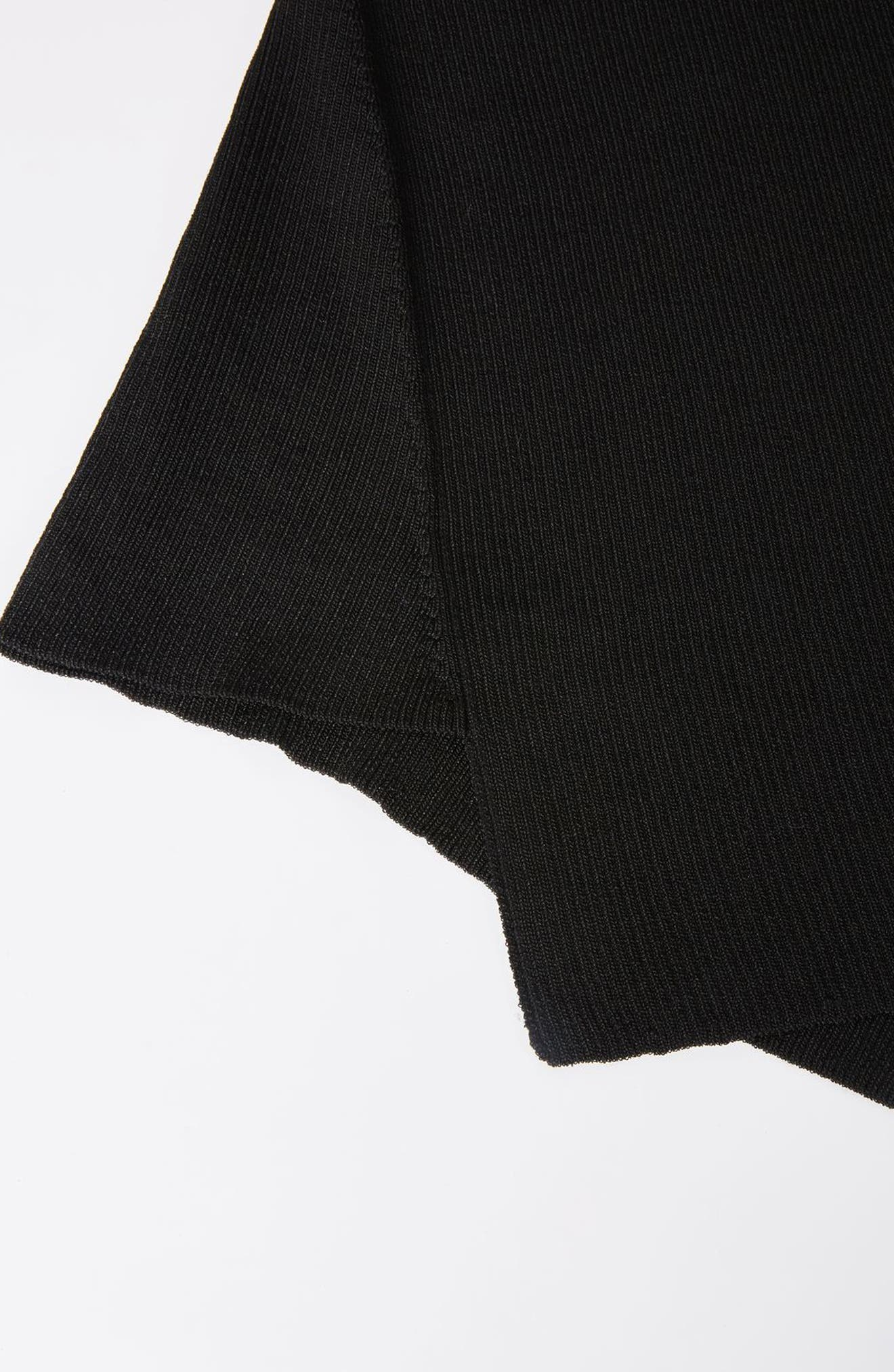 Alternate Image 2  - Topshop Boutique Slash Neck Asymmetrical Top