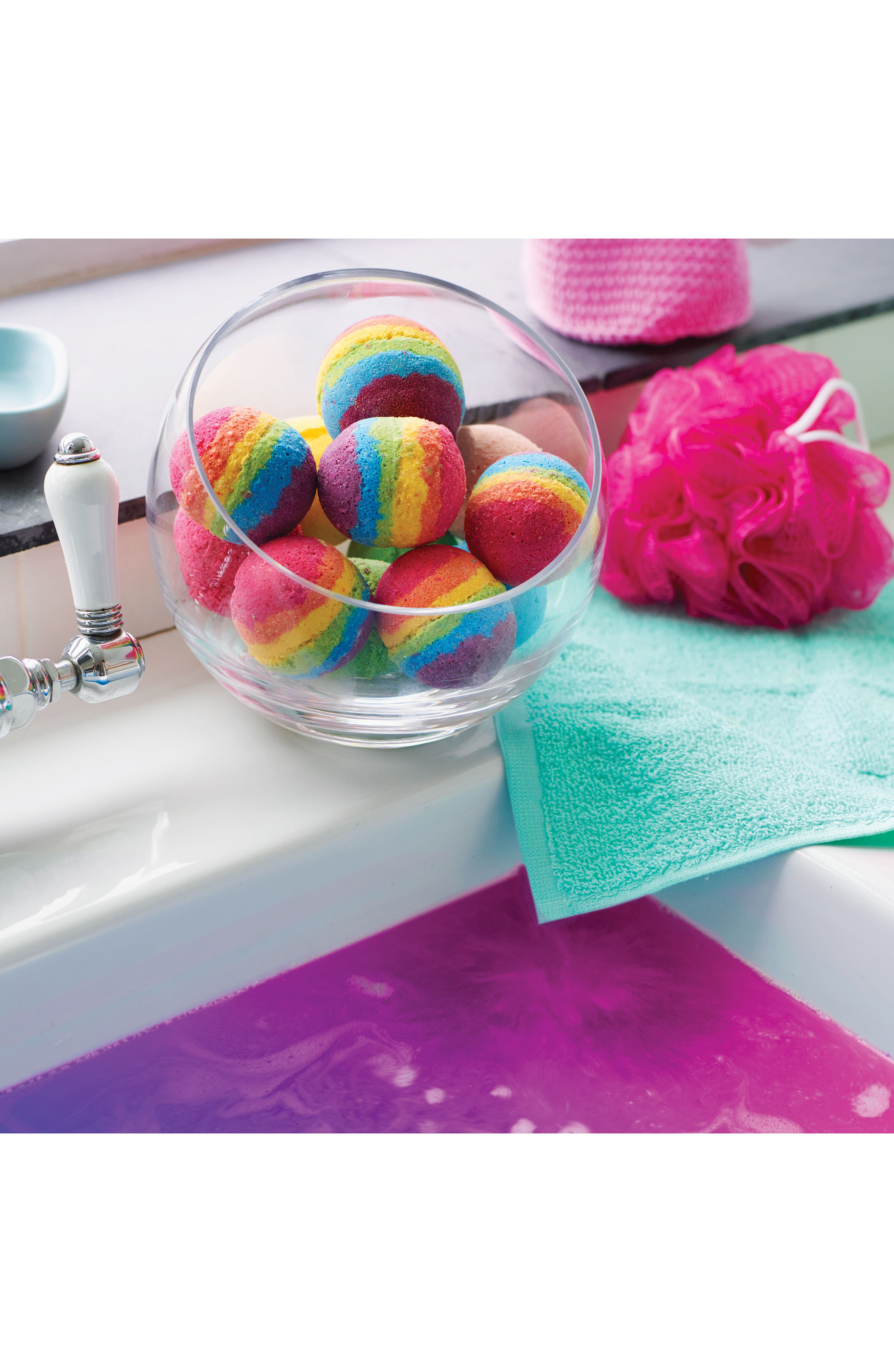 Klutz Make Your Own Bath Bomb Kit,                             Alternate thumbnail 3, color,                             Pink