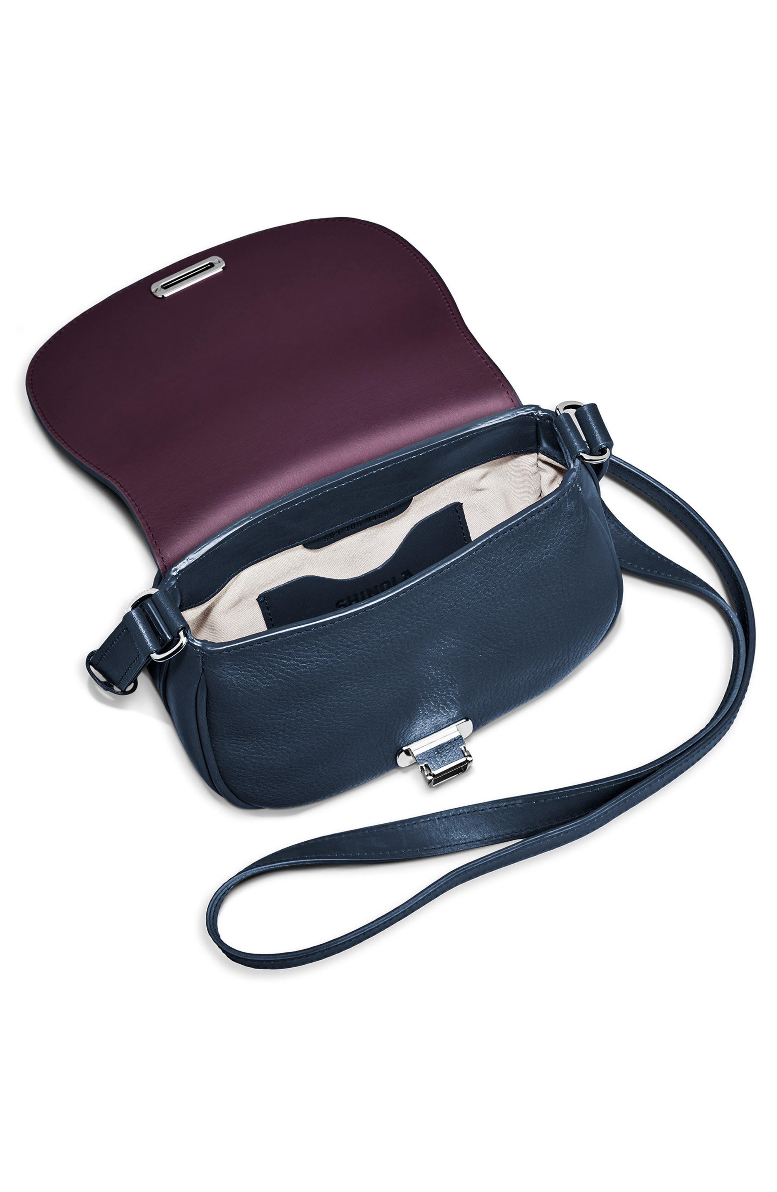 Alternate Image 3  - Shinola Calfskin Leather Shoulder Bag