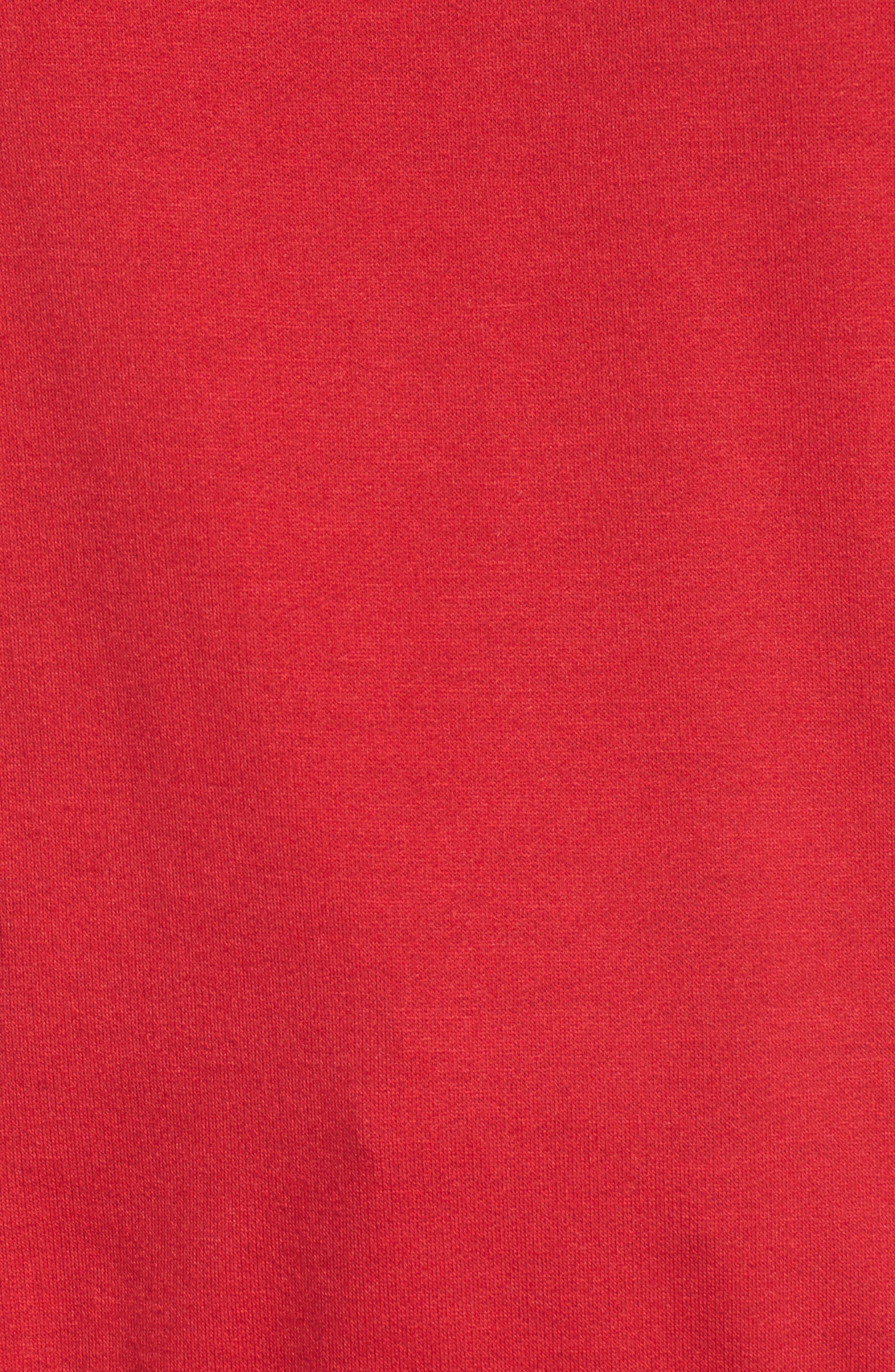 Team Rudolph Sweatshirt,                             Alternate thumbnail 5, color,                             Burgundy