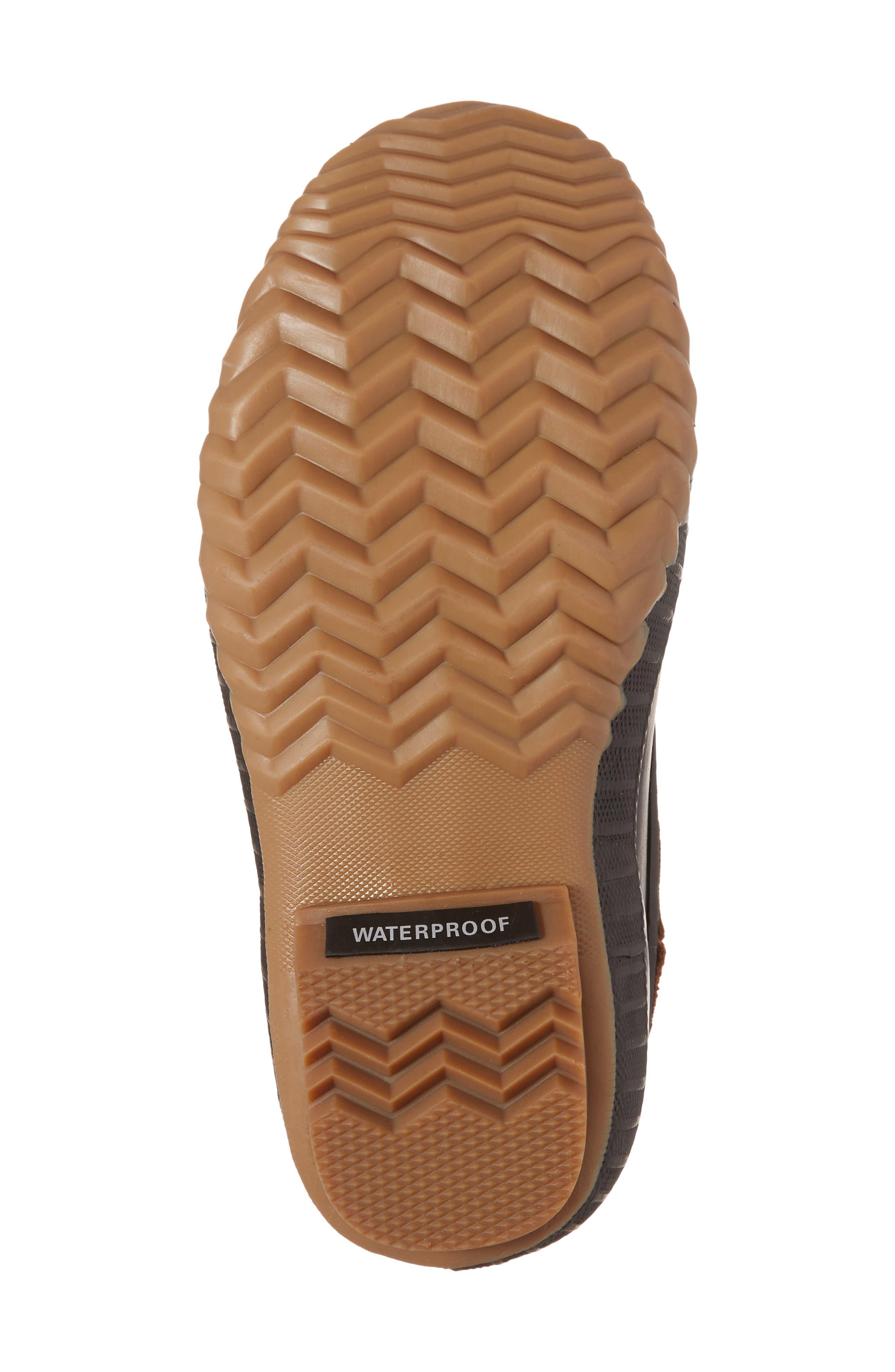Cheyanne II Waterproof Insulated Chelsea Boot,                             Alternate thumbnail 6, color,                             Elk/ Black
