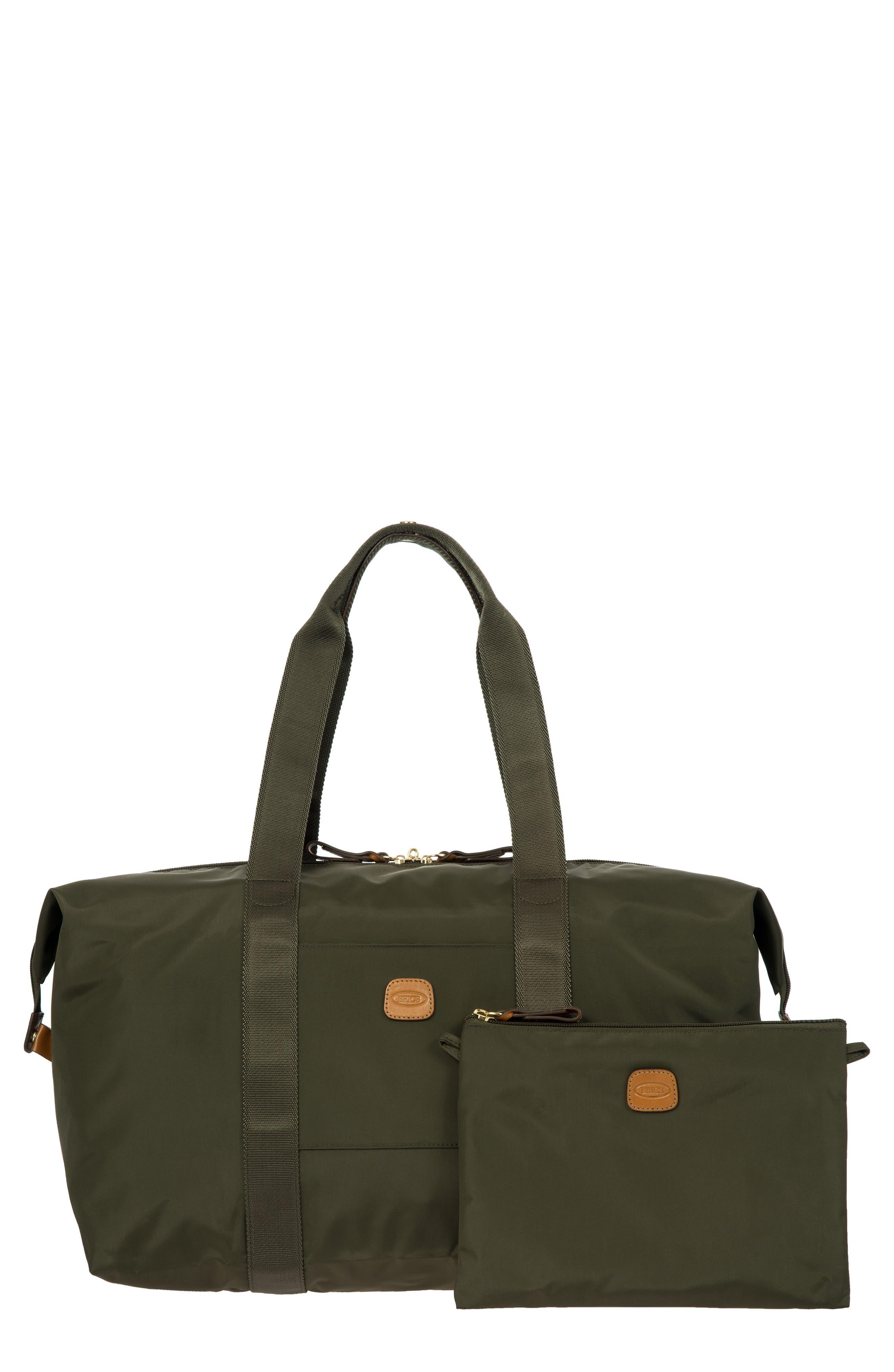 X-Bag 18-Inch Folding Duffel Bag,                         Main,                         color, Olive