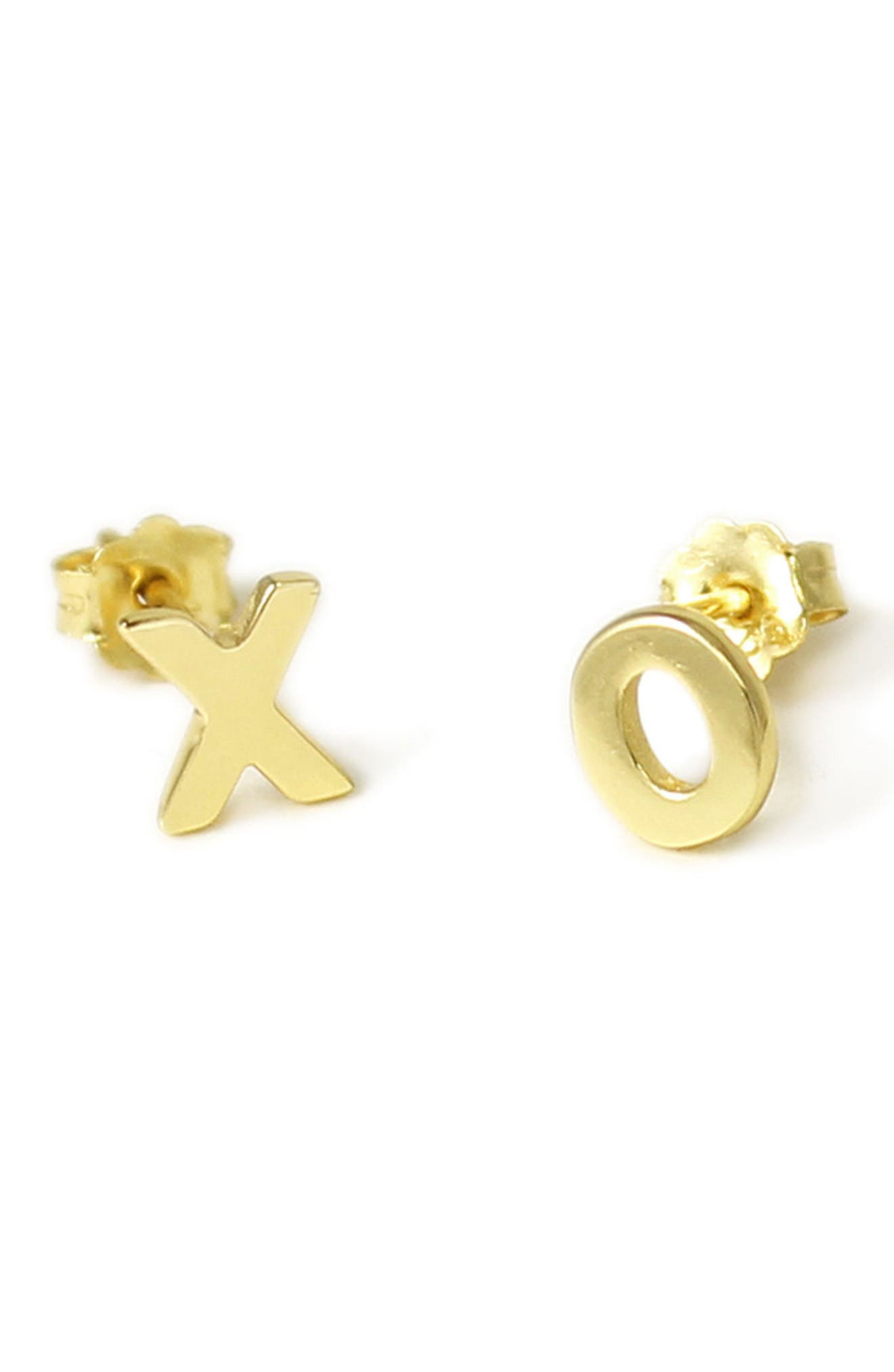Kris Nations XO Stud Earrings
