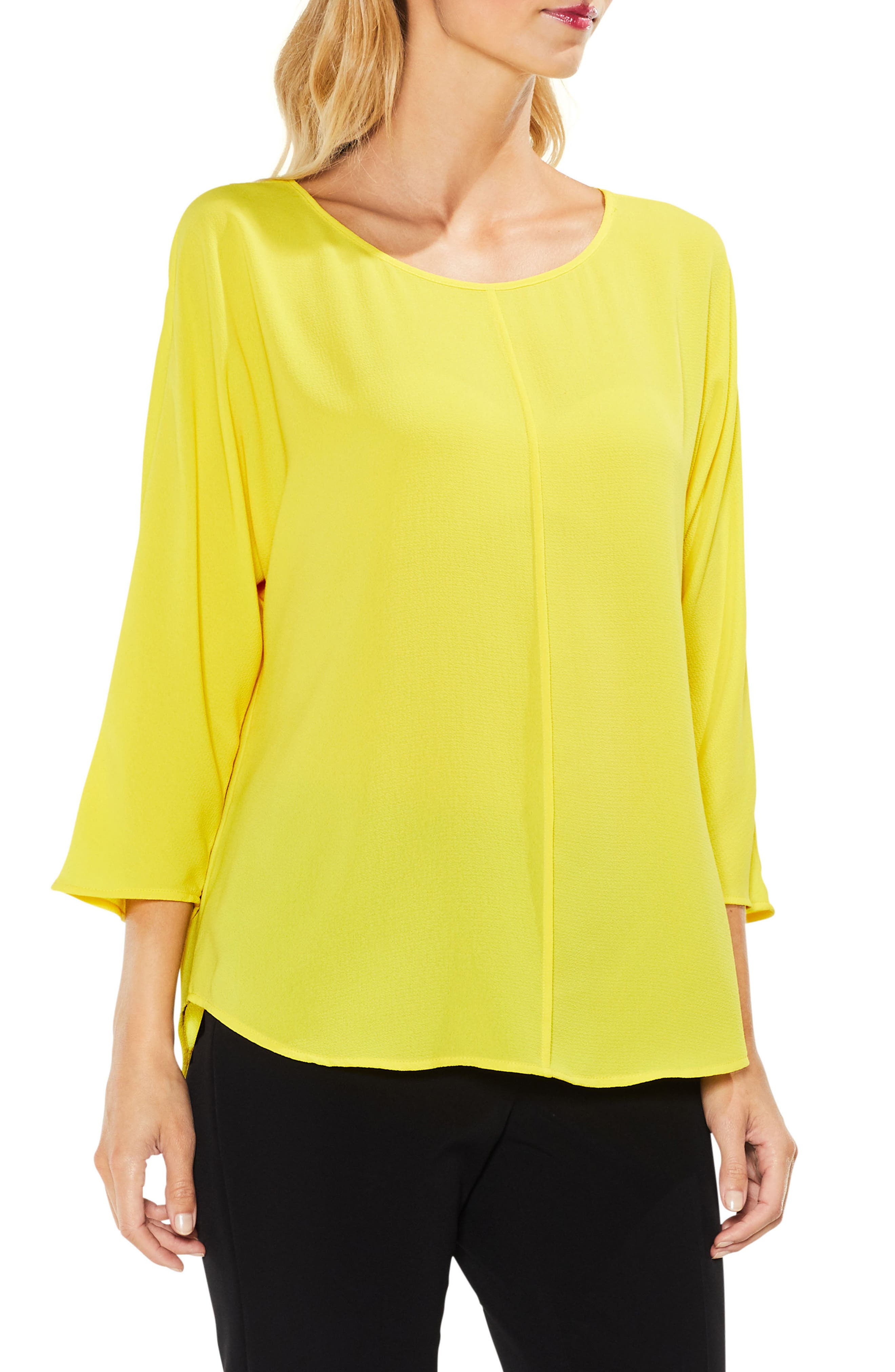 Alternate Image 1 Selected - Vince Camuto Center Seam Blouse