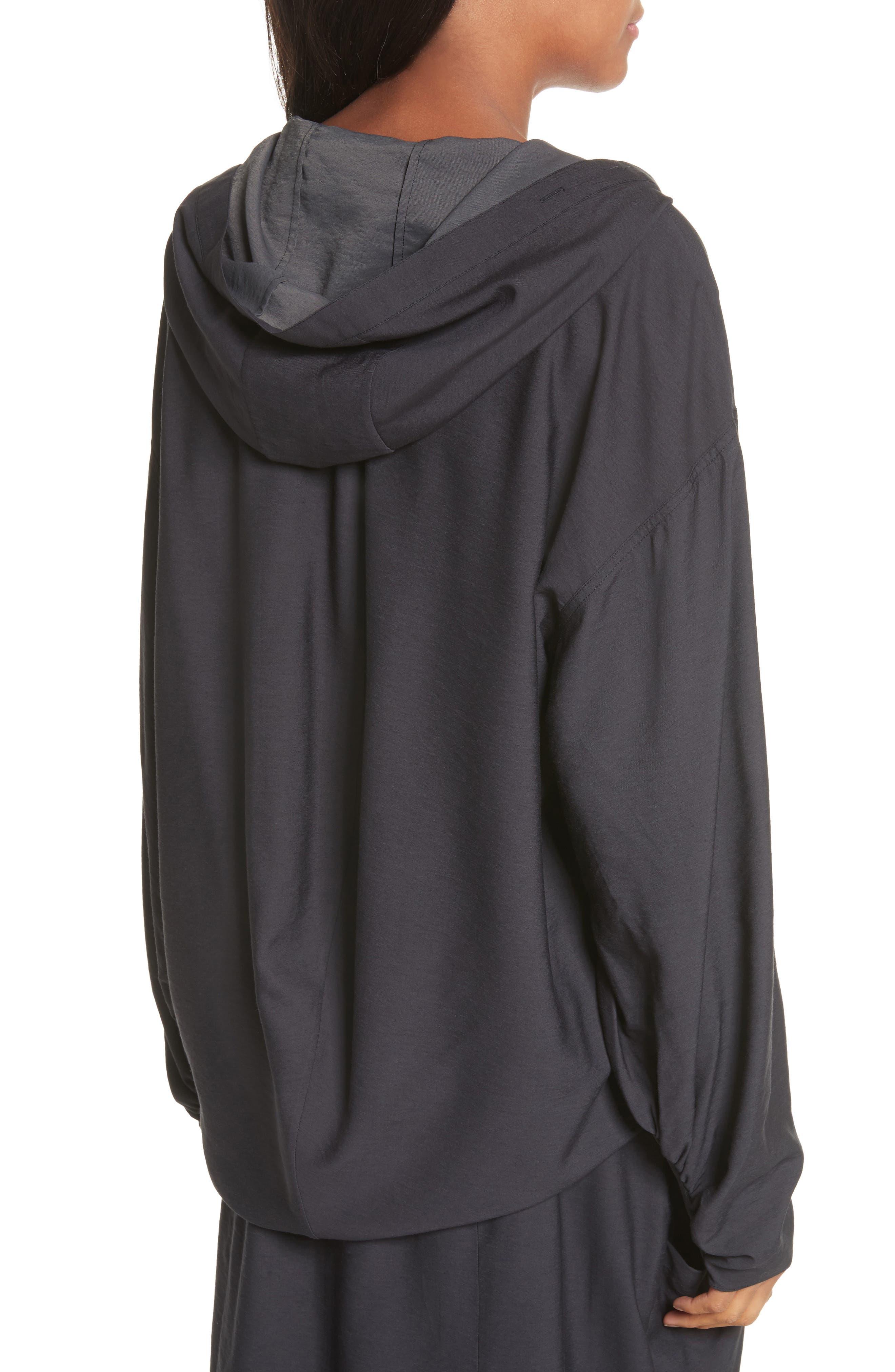 Hooded Tunic,                             Alternate thumbnail 2, color,                             Black