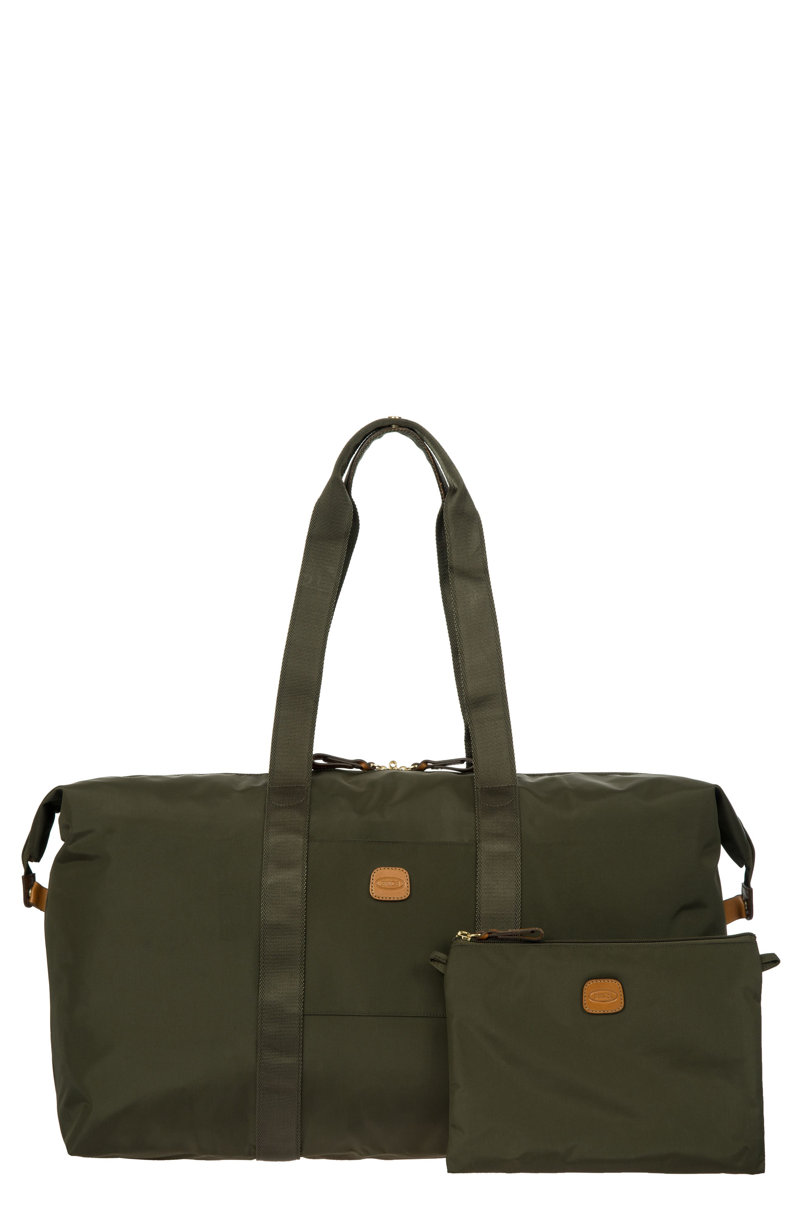 X-Bag 22-Inch Folding Duffel Bag,                             Alternate thumbnail 4, color,                             Olive