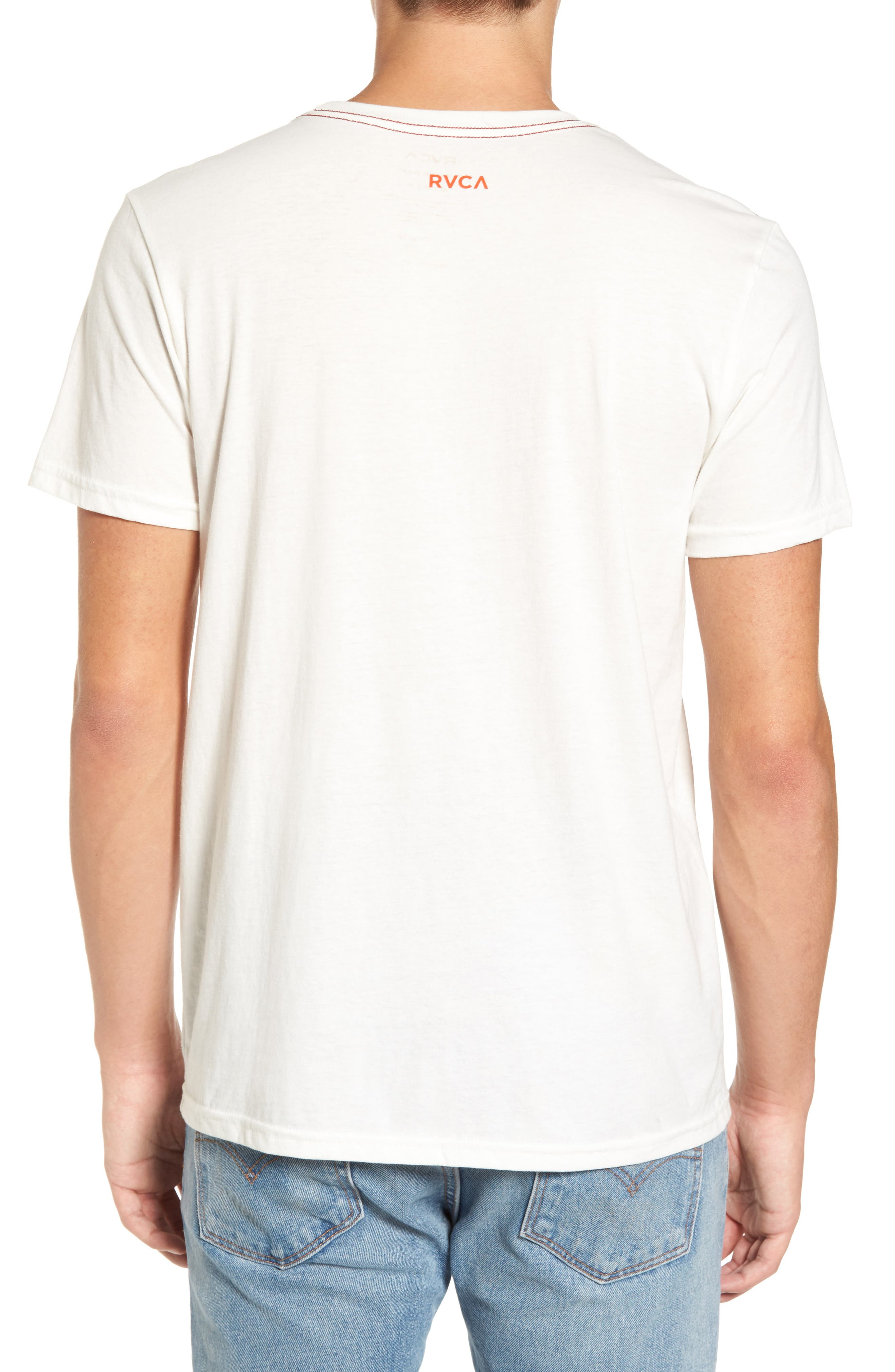 Alternate Image 2  - RVCA In My Own World Graphic T-Shirt