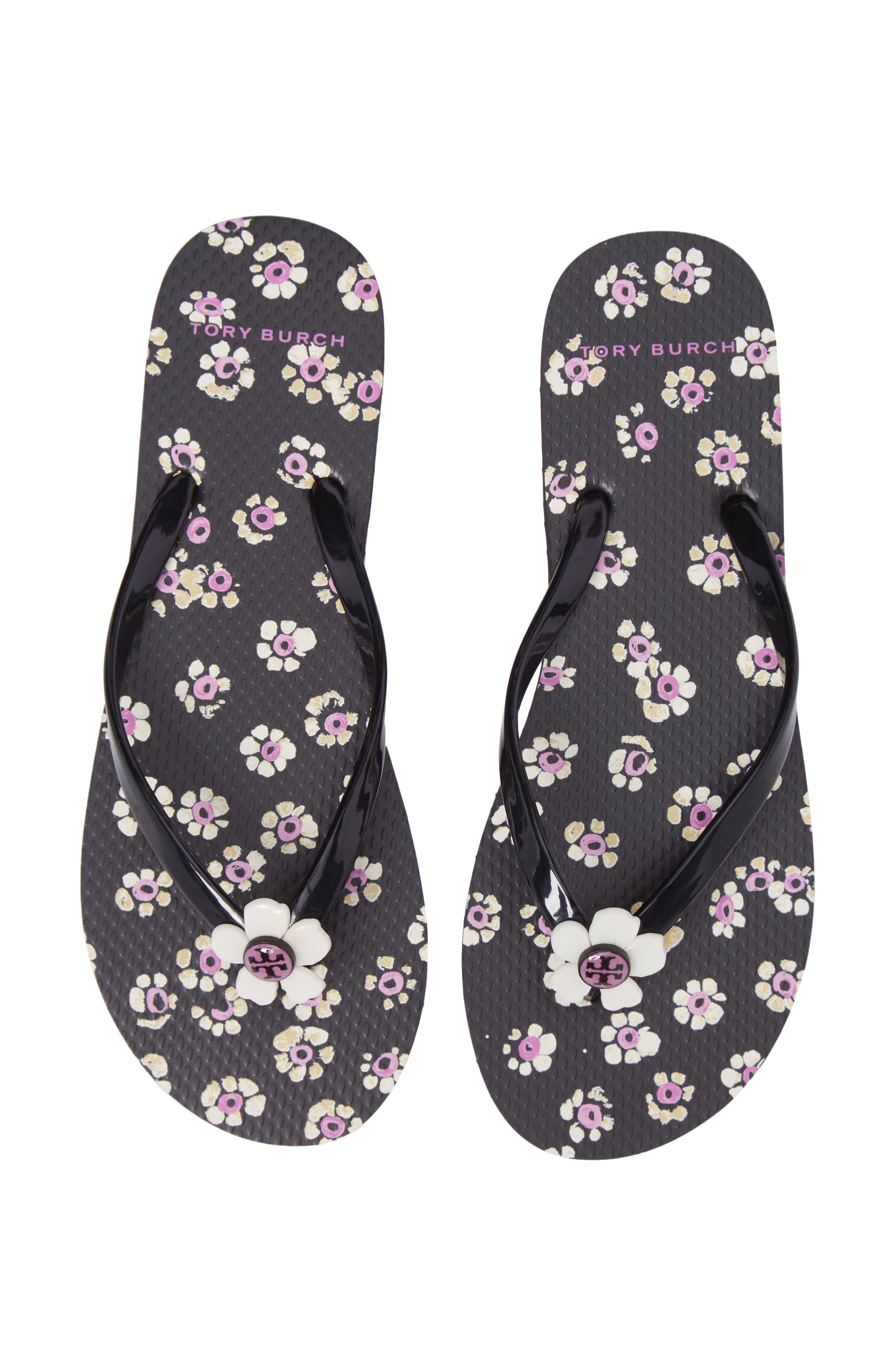 Alternate Image 5  - Tory Burch Flower Flip-Flop (Women)