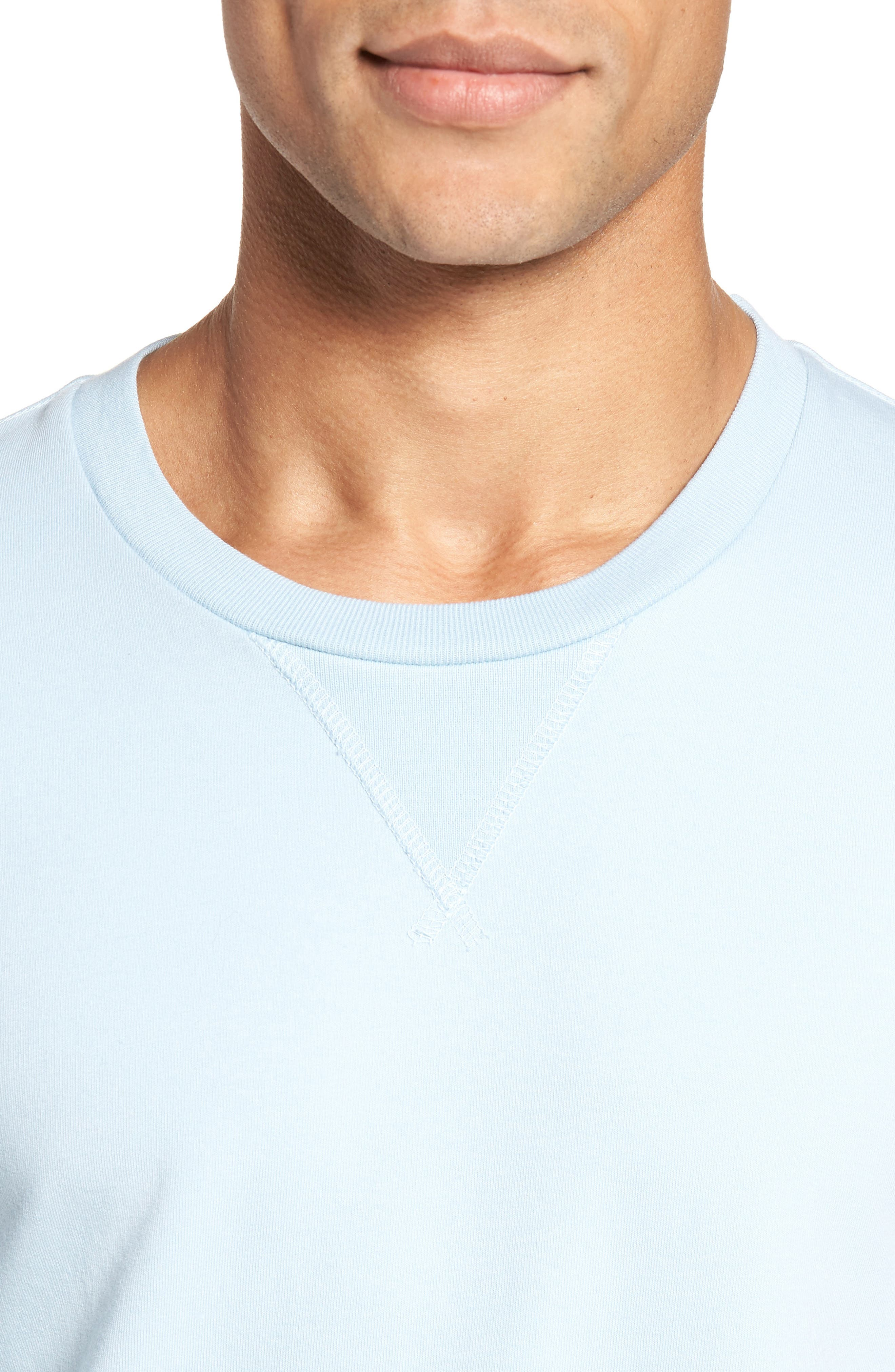 Alternate Image 4  - Goodlife Slim Fit Crewneck Sweatshirt