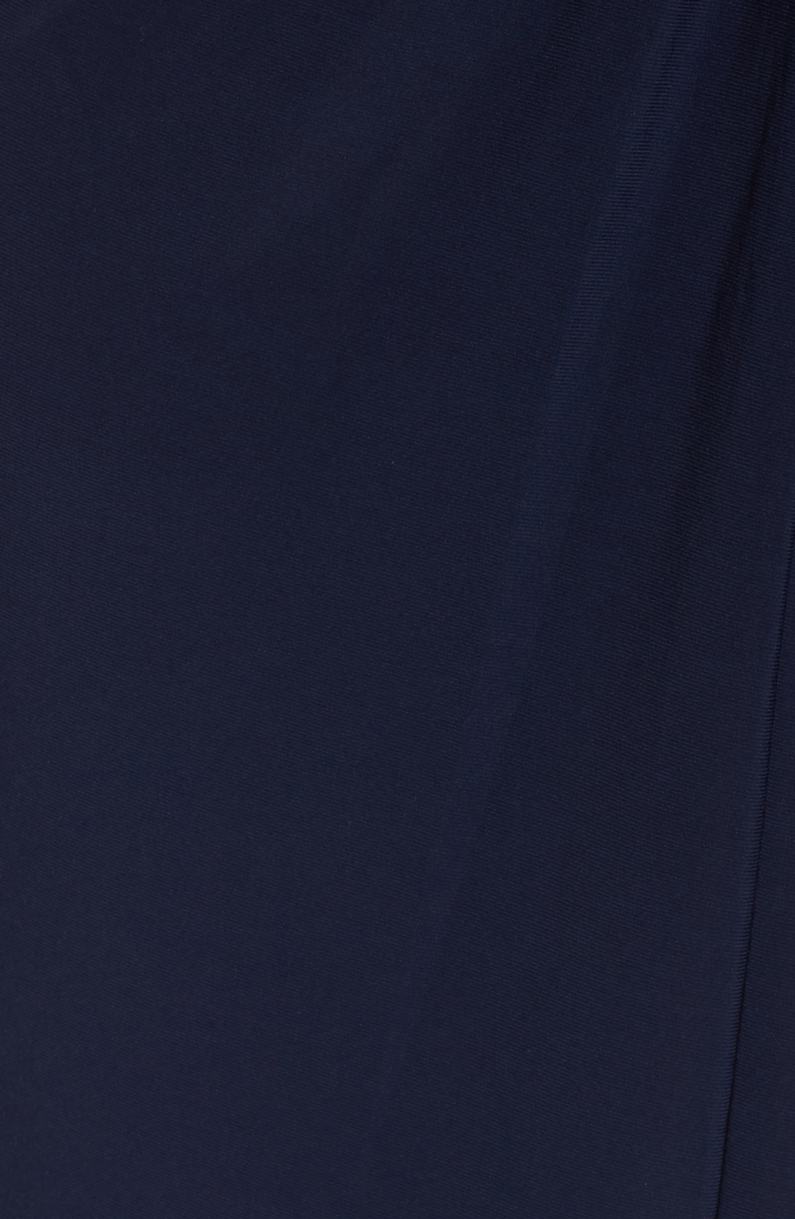Alternate Image 5  - Alex Evenings Jewel Neck Twist Front Shift Dress (Plus Size)