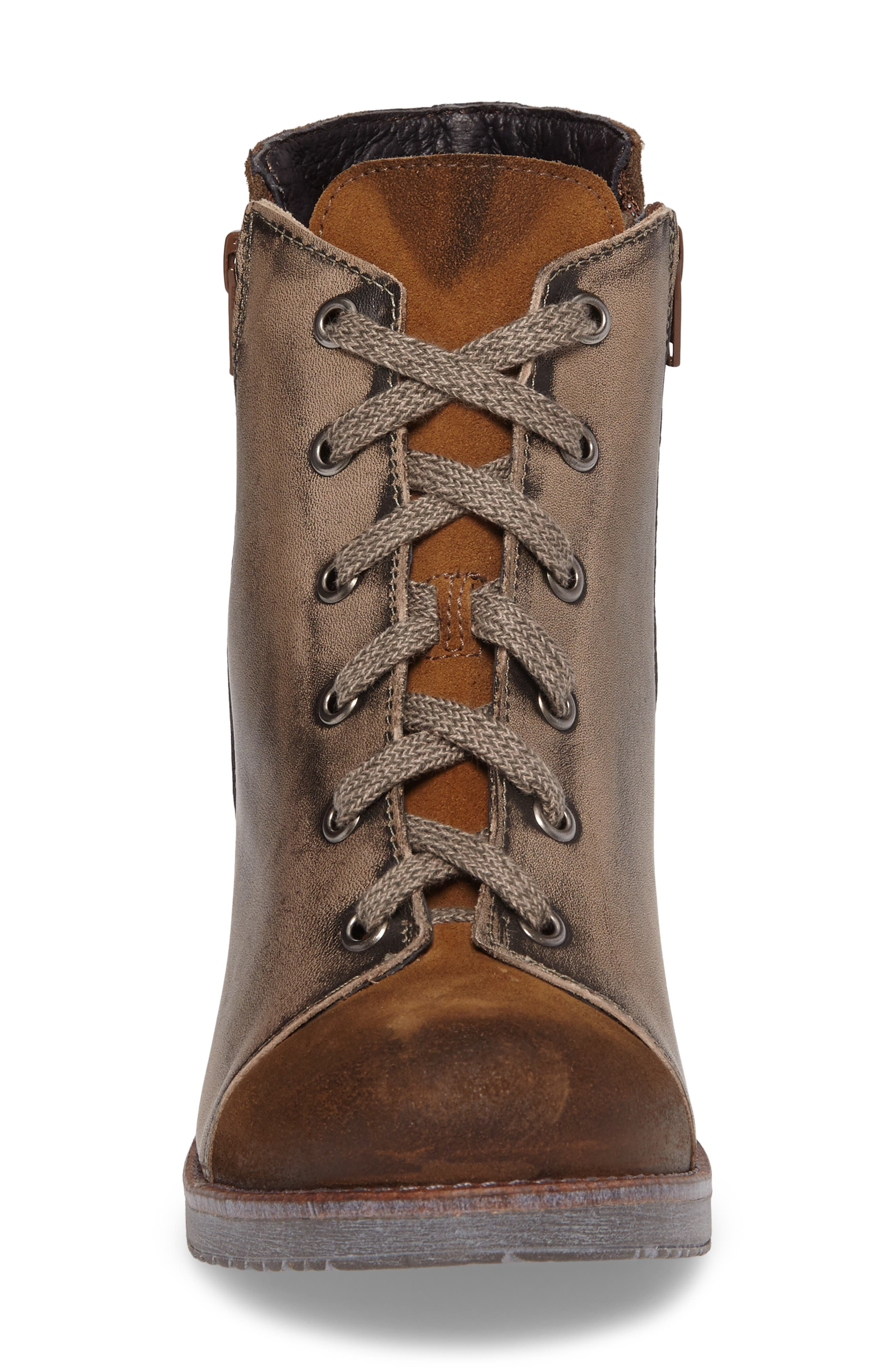 Alternate Image 4  - Naot Groovy Lace Up Bootie (Women)