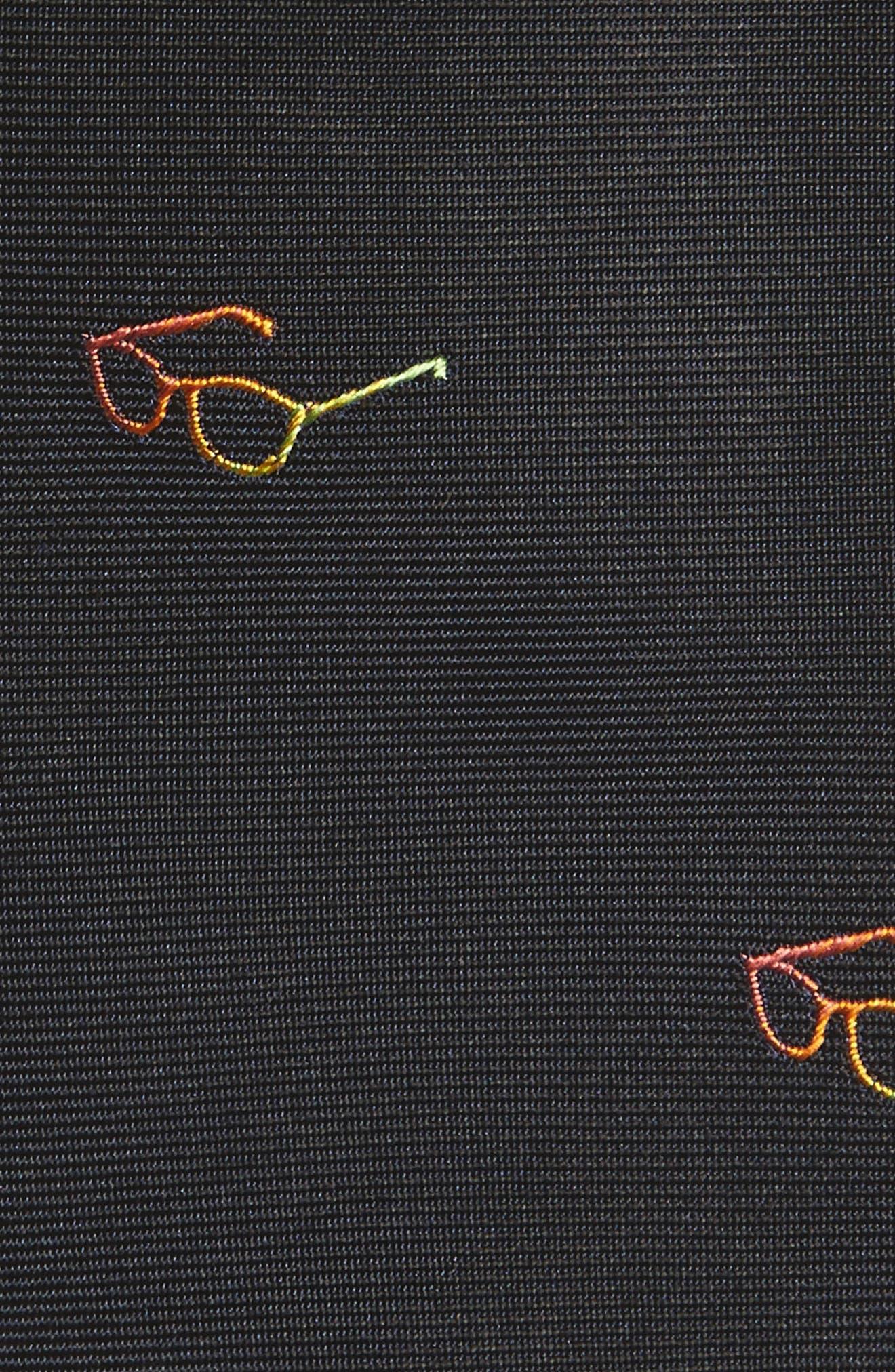 Alternate Image 2  - Paul Smith Glasses Silk Skinny Tie