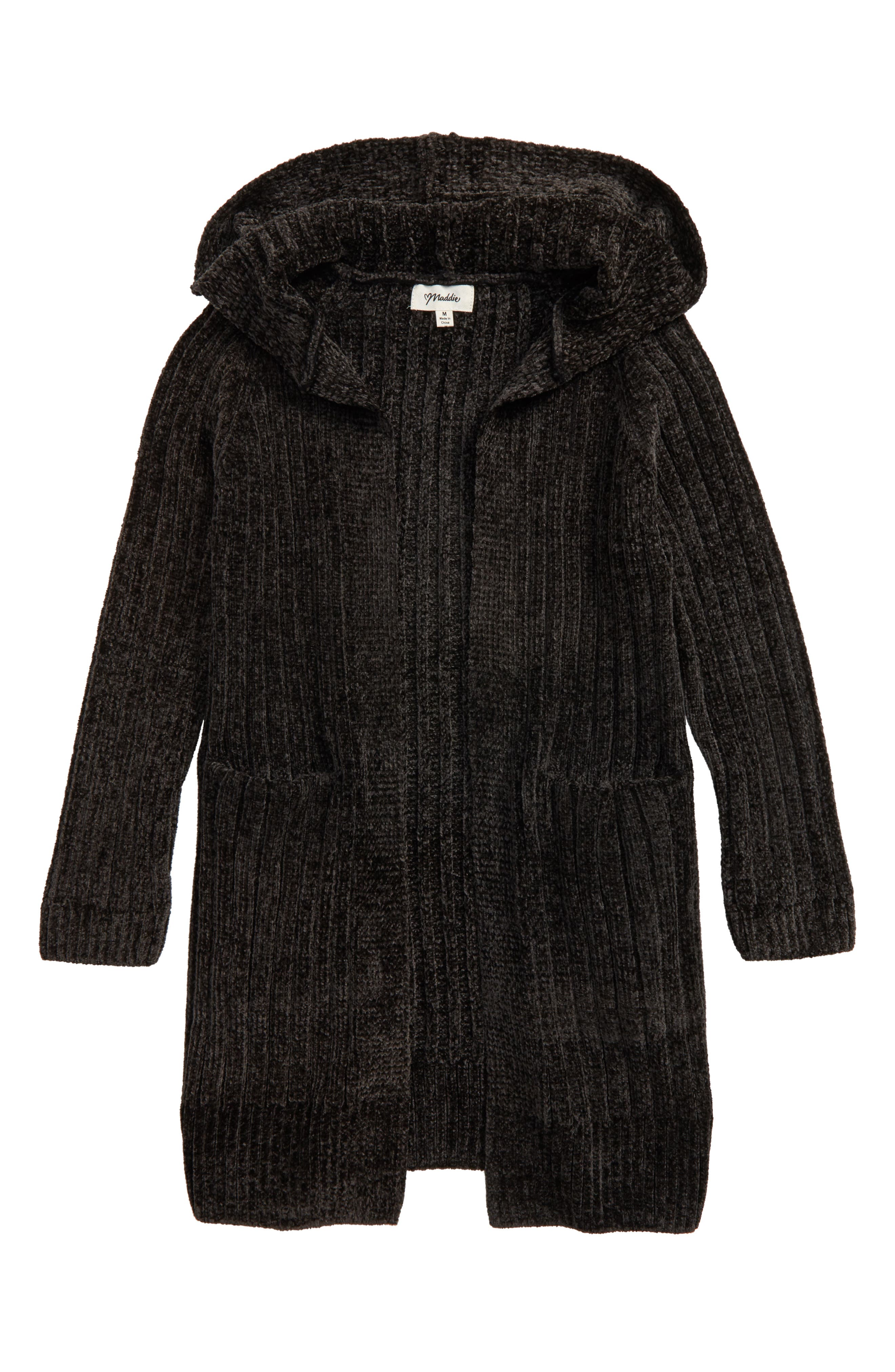 Maddie Hooded Cardigan (Big Girls)