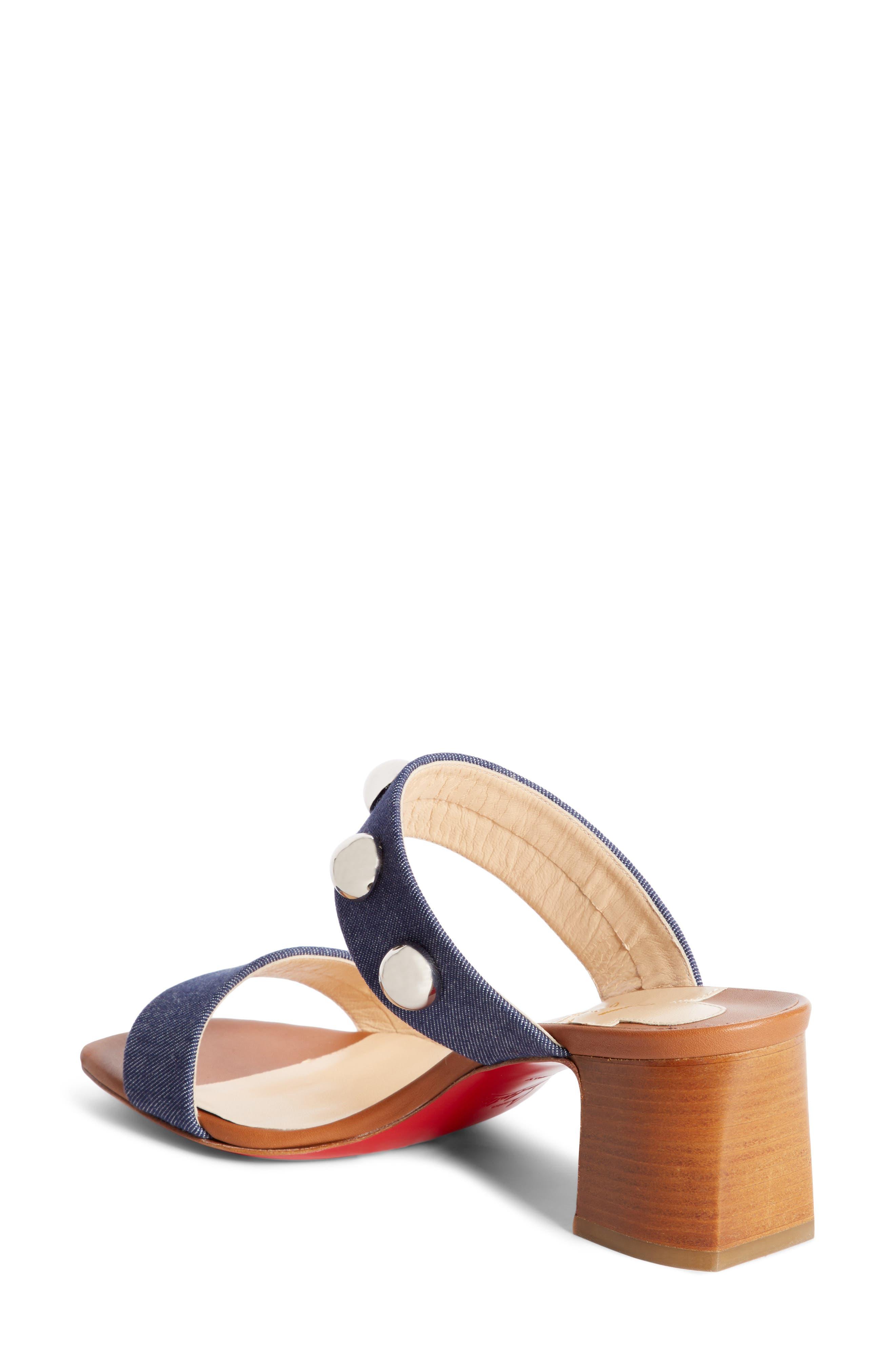 Alternate Image 2  - Christian Louboutin Simple Bille Ornament Slide Sandal (Women)