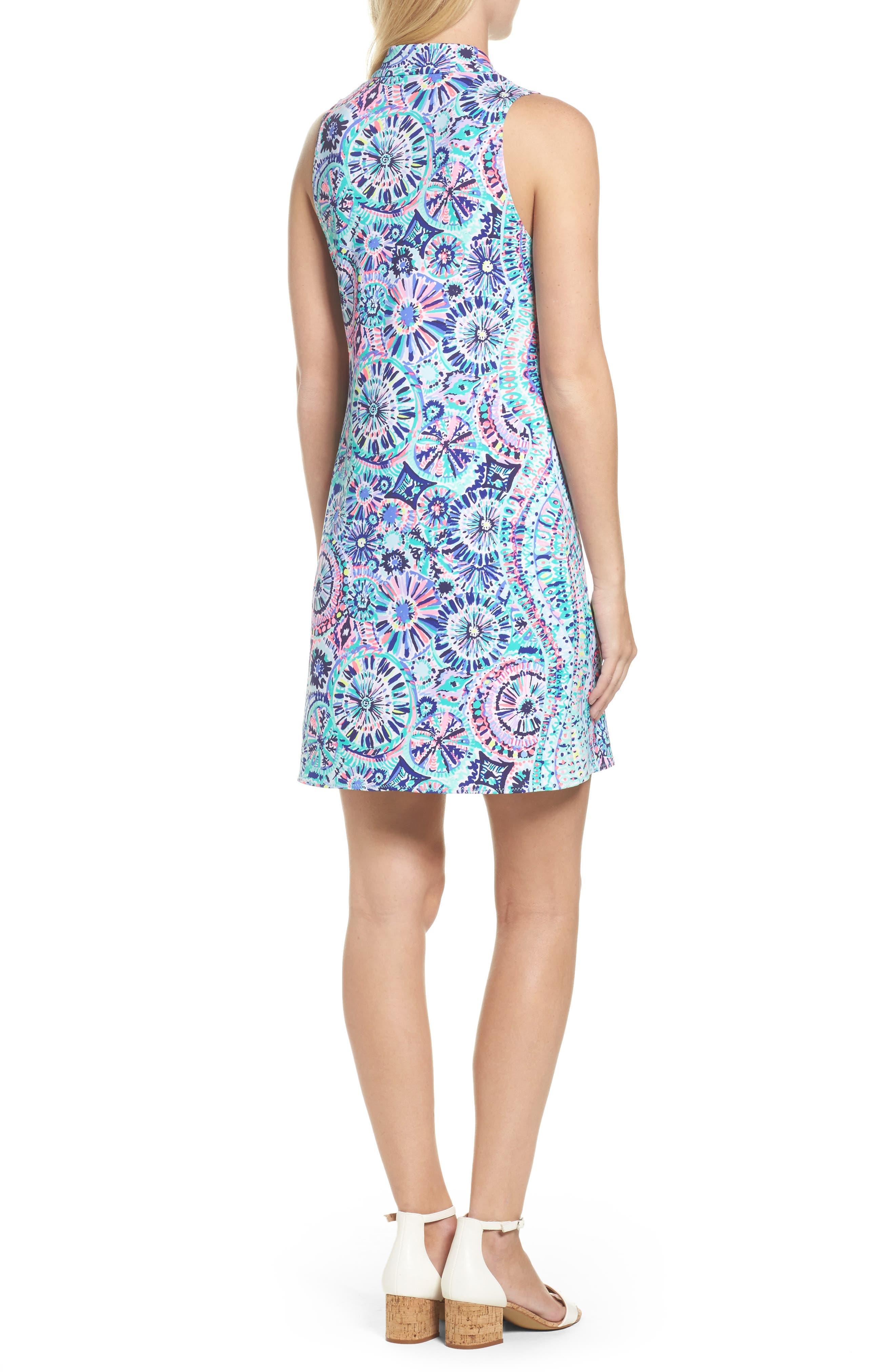 Opal Sheath Dress,                             Alternate thumbnail 2, color,                             Multi The Swim