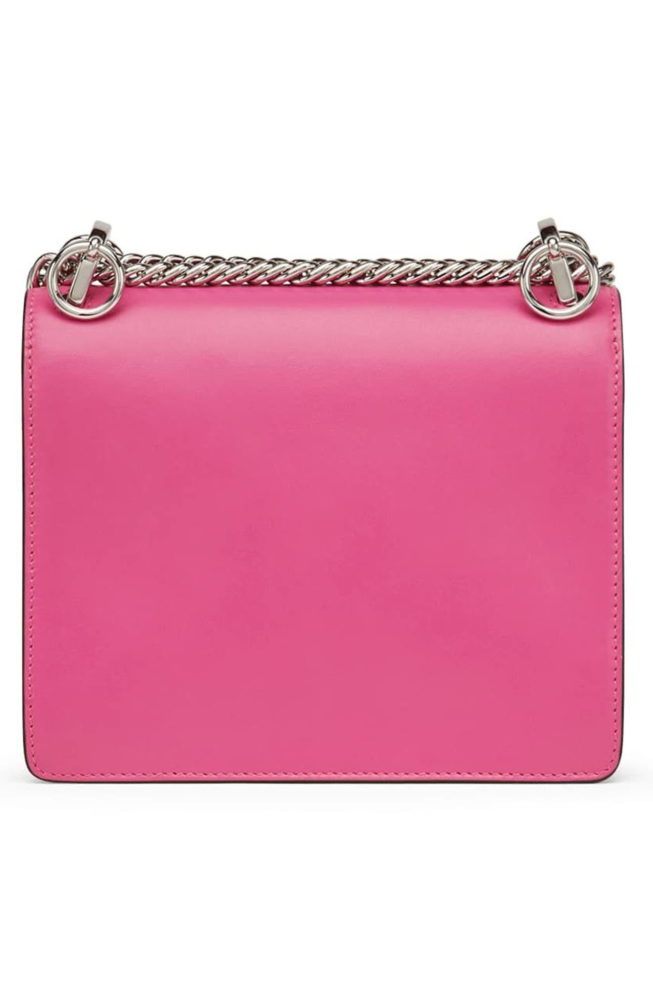 Alternate Image 2  - Fendi Small Kan I Leather Shoulder Bag