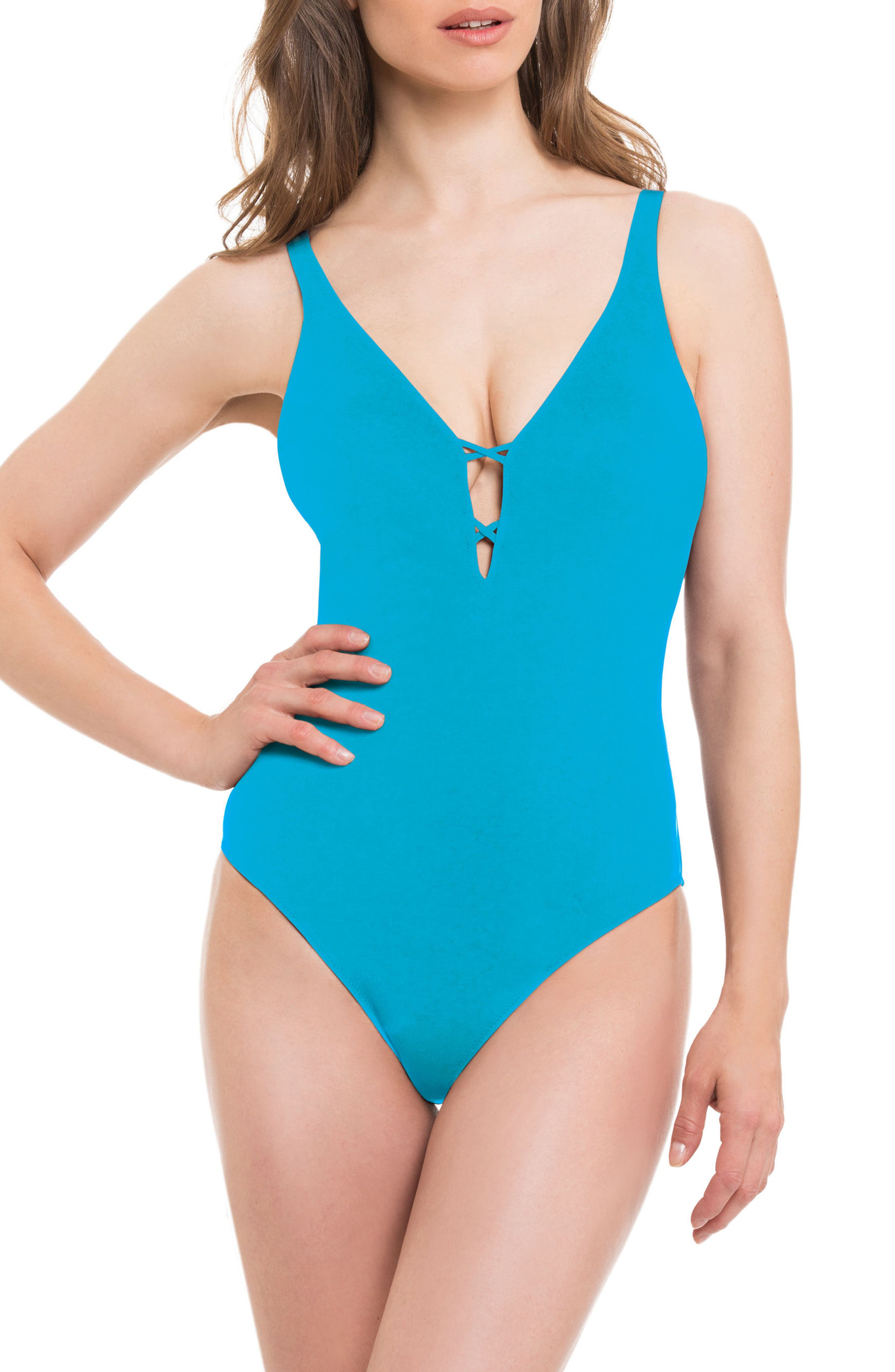 Alternate Image 2  - Profile by Gottex Java One-Piece Swimsuit