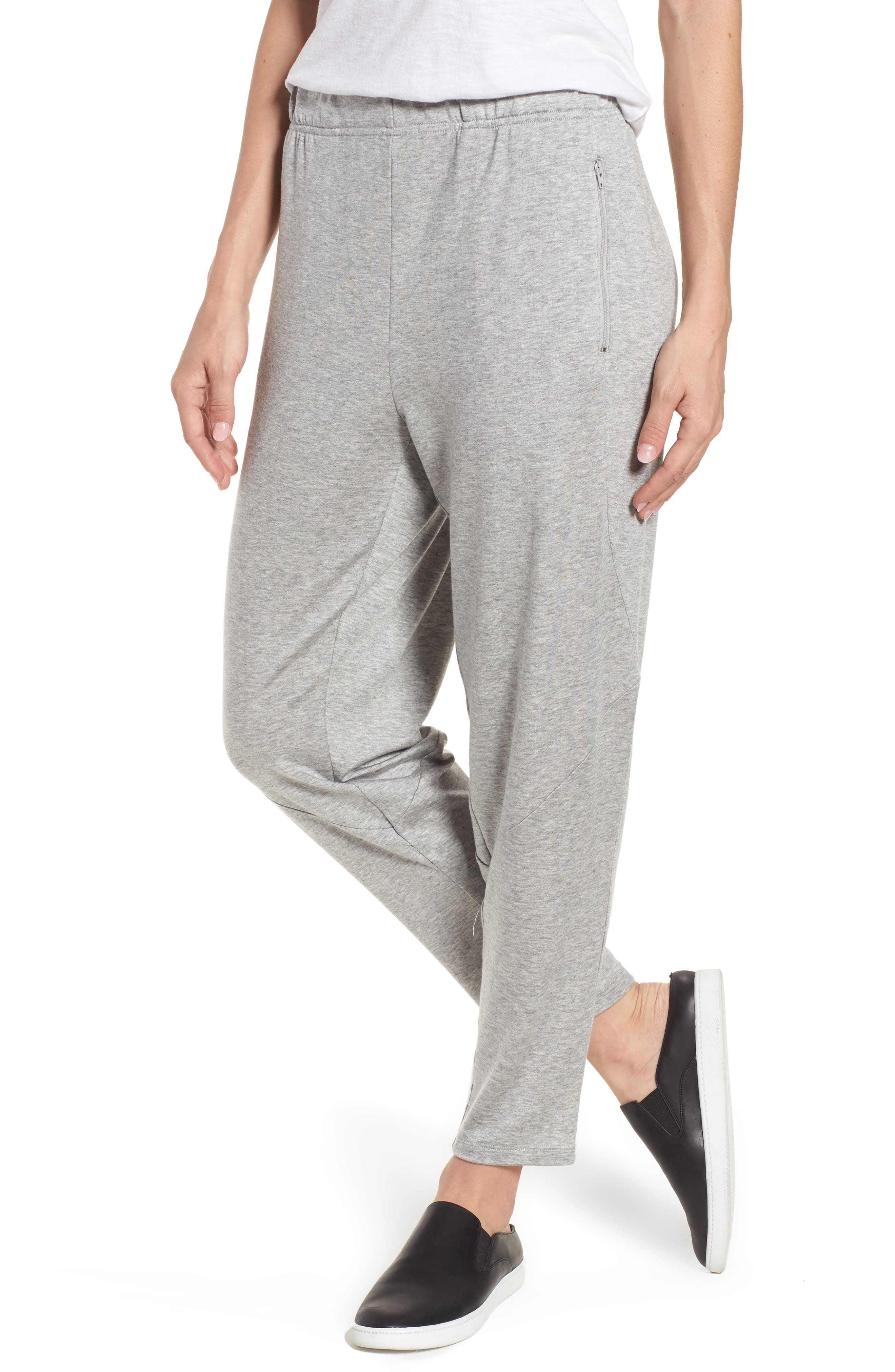 Eileen Fisher Slouchy Stretch Tencel® Tapered Pants