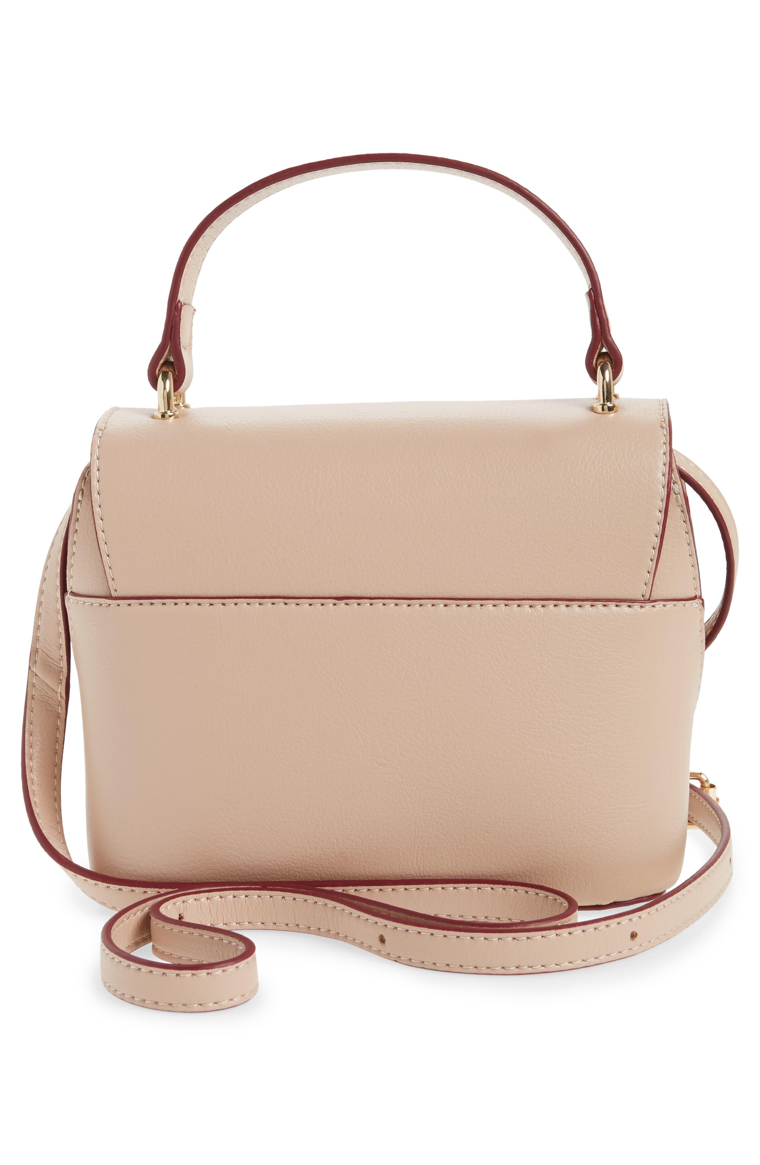 Mini Chino Crossbody Bag,                             Alternate thumbnail 3, color,                             Blush