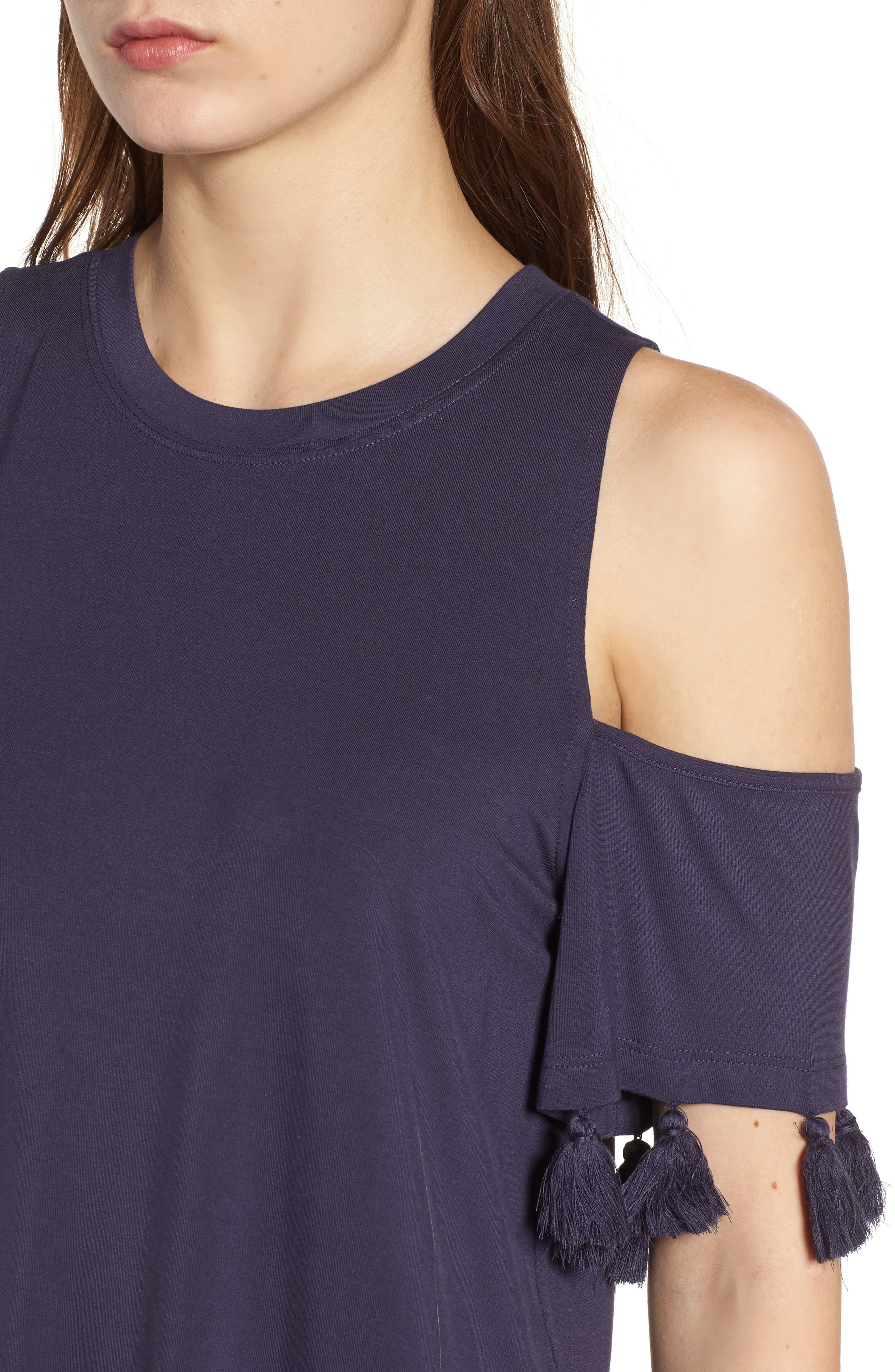 Alternate Image 4  - Rebecca Minkoff Theora Cold Shoulder Tee