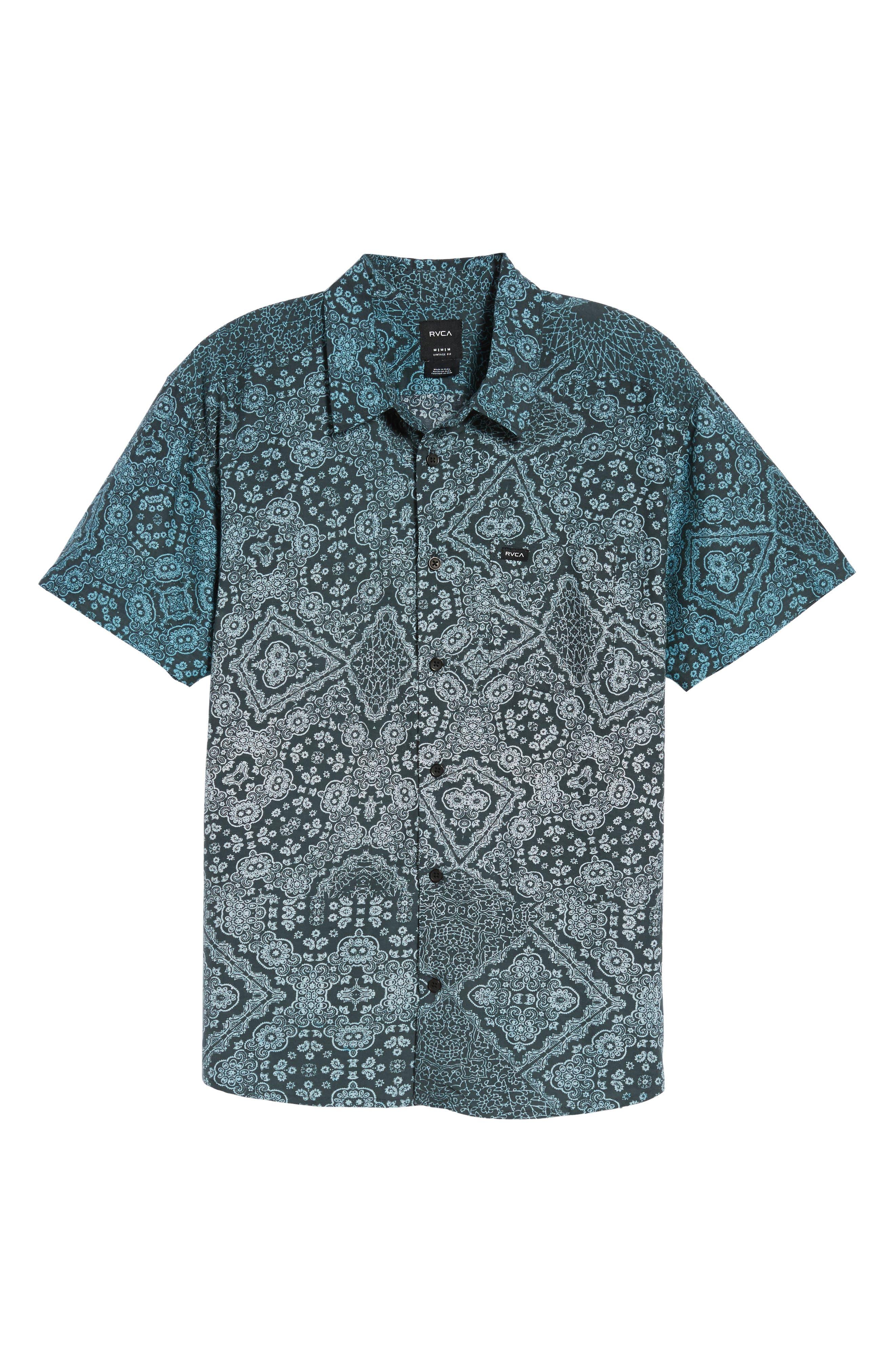Alternate Image 6  - RVCA I Like It Print Shirt