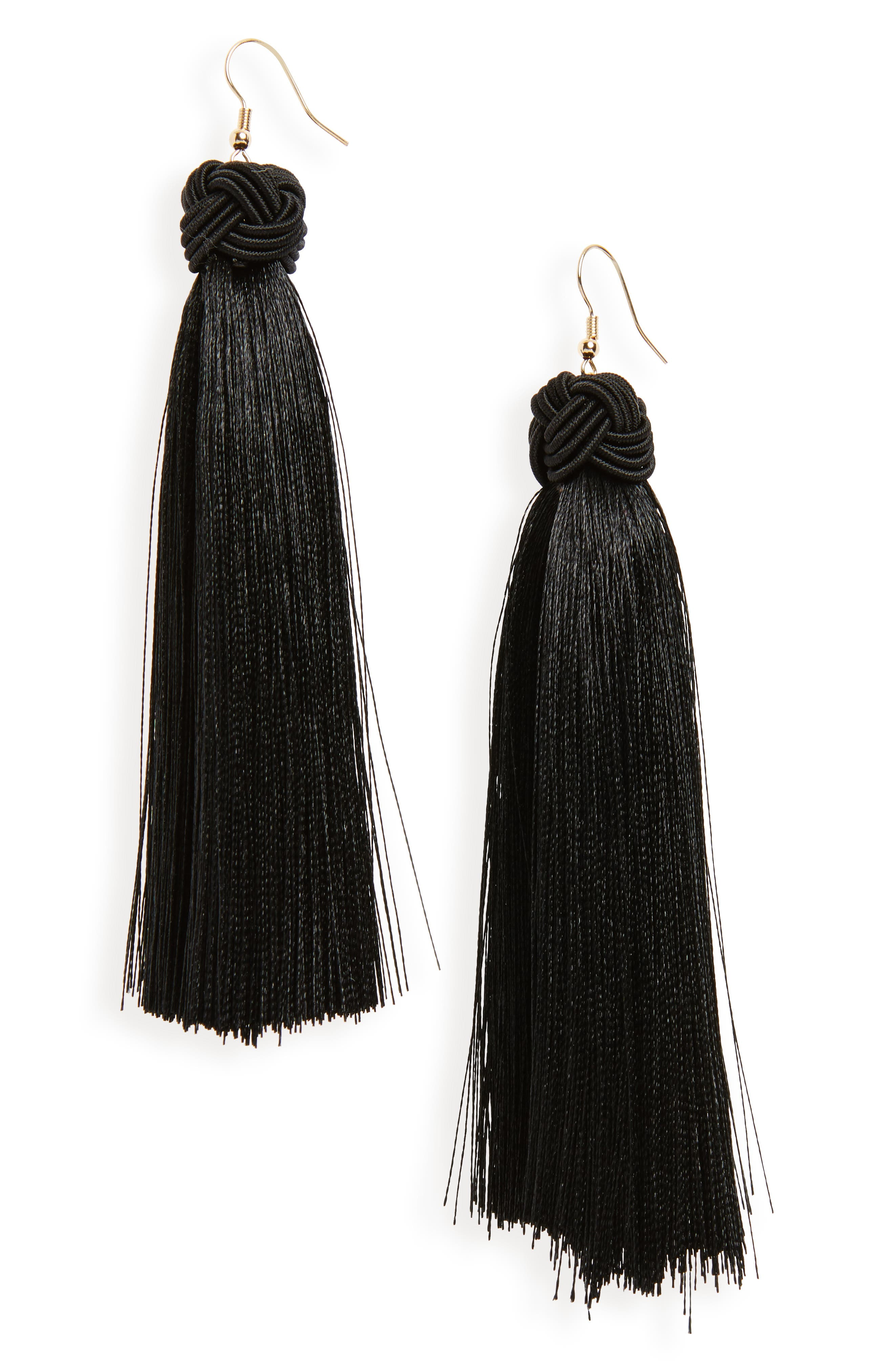 BP. Silky Tassel Earrings