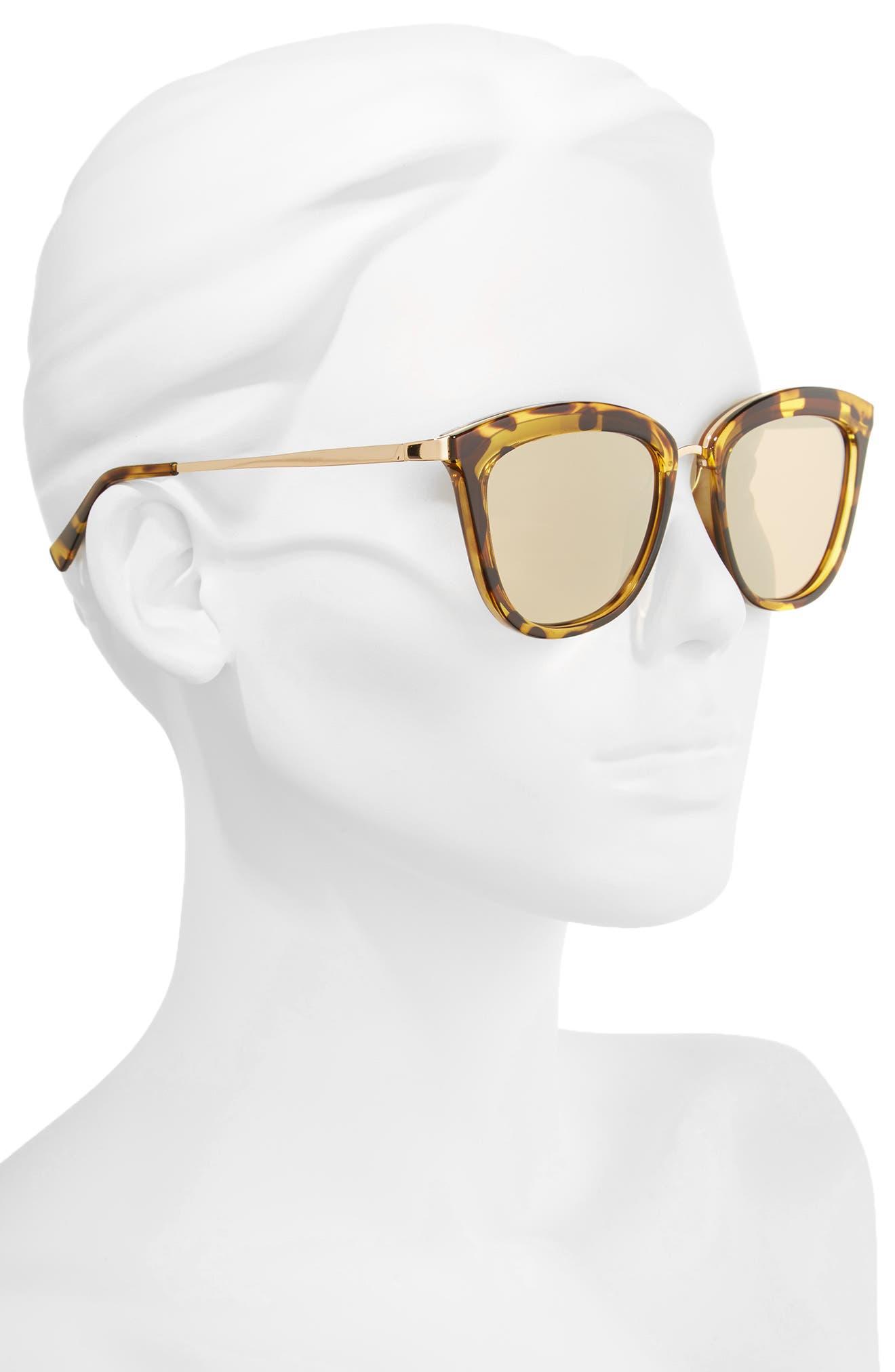 Alternate Image 2  - Le Specs Caliente 53mm Cat Eye Sunglasses