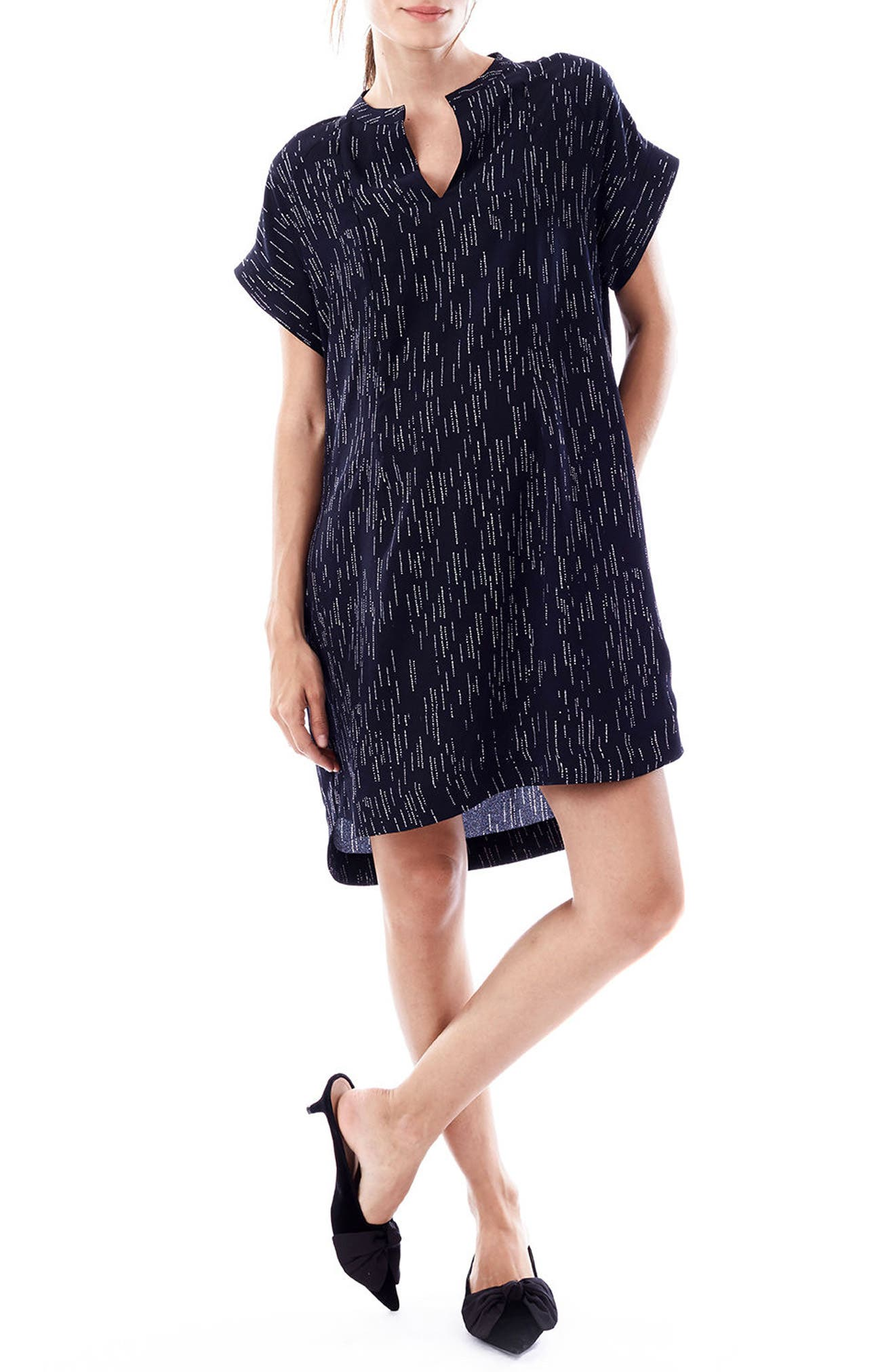 Cybelle Maternity/Nursing Shirtdress,                         Main,                         color, Waterfall