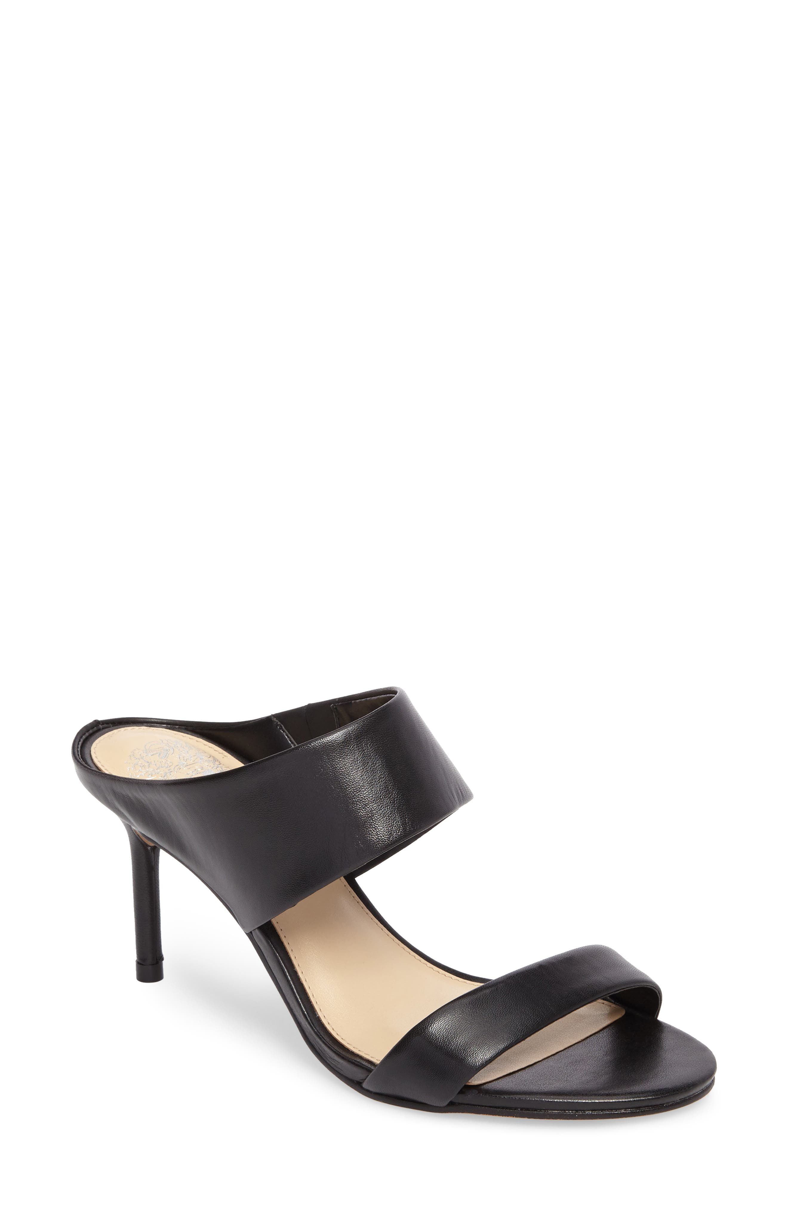 Navinta Sandal,                             Main thumbnail 1, color,                             Black Nappa Leather