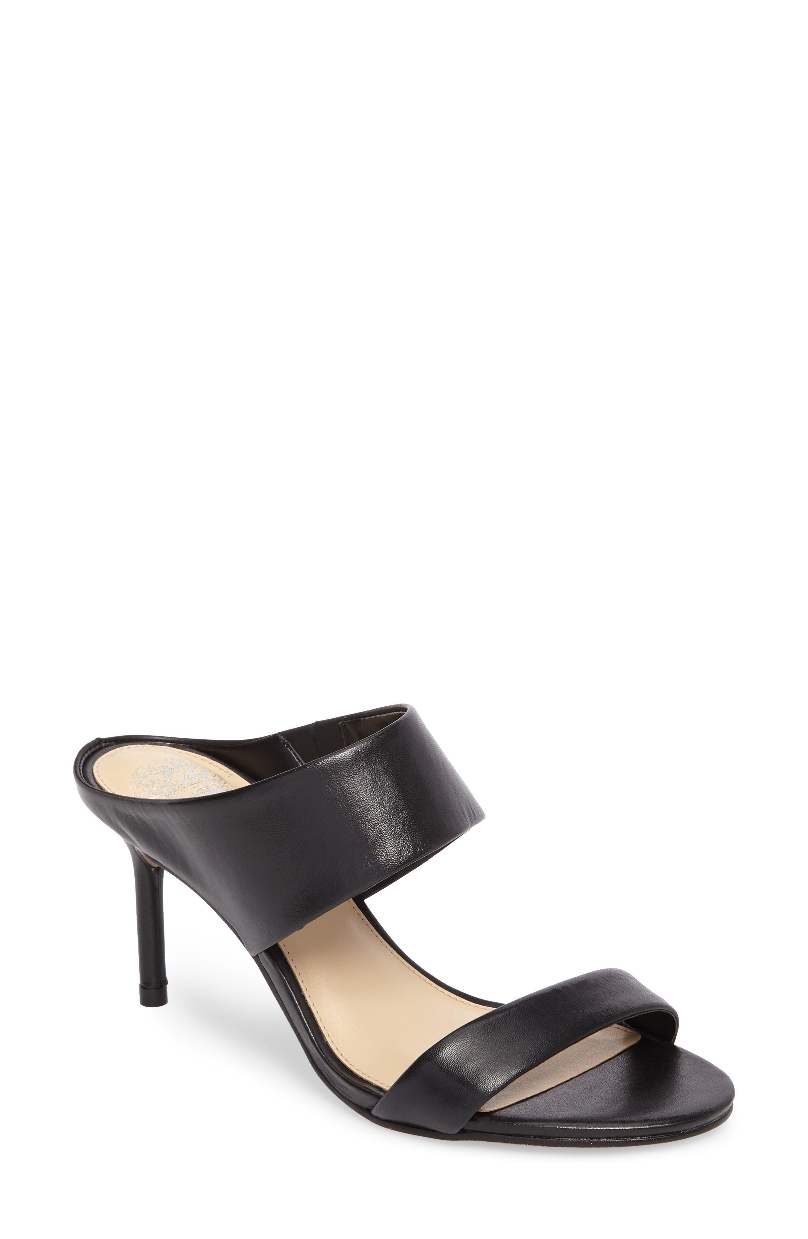 Navinta Sandal,                         Main,                         color, Black Nappa Leather