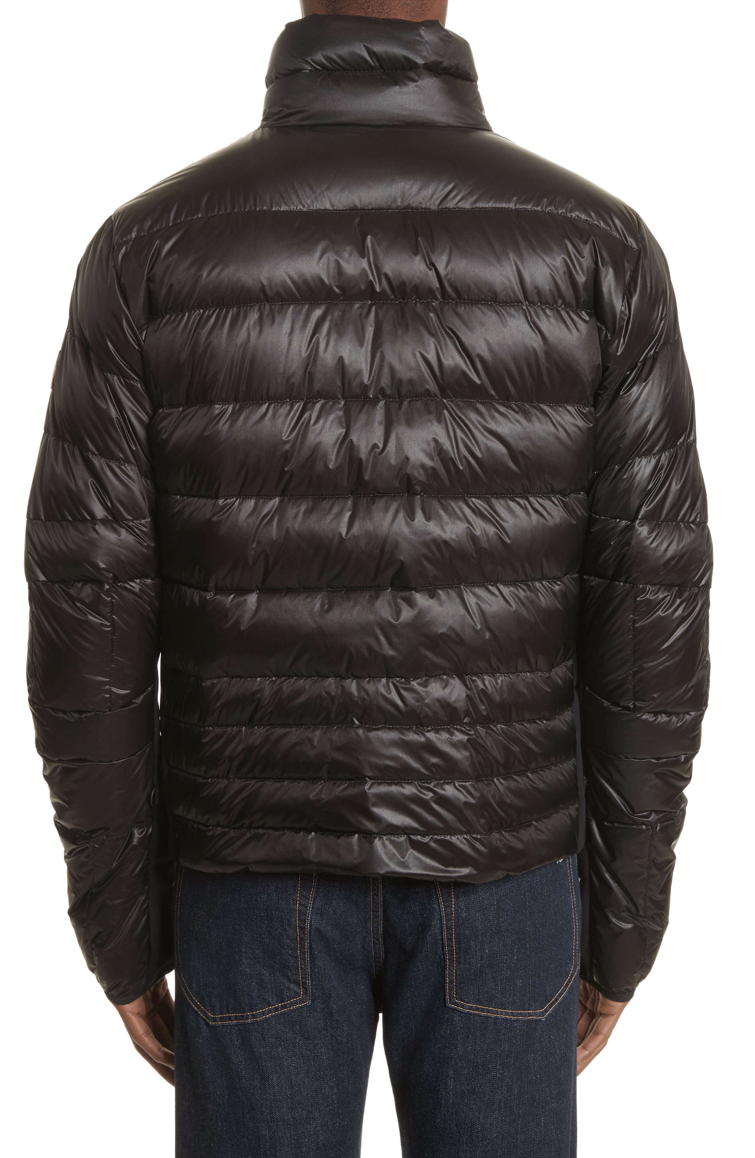 Grenoble Canmore Down Jacket,                             Alternate thumbnail 2, color,                             Black