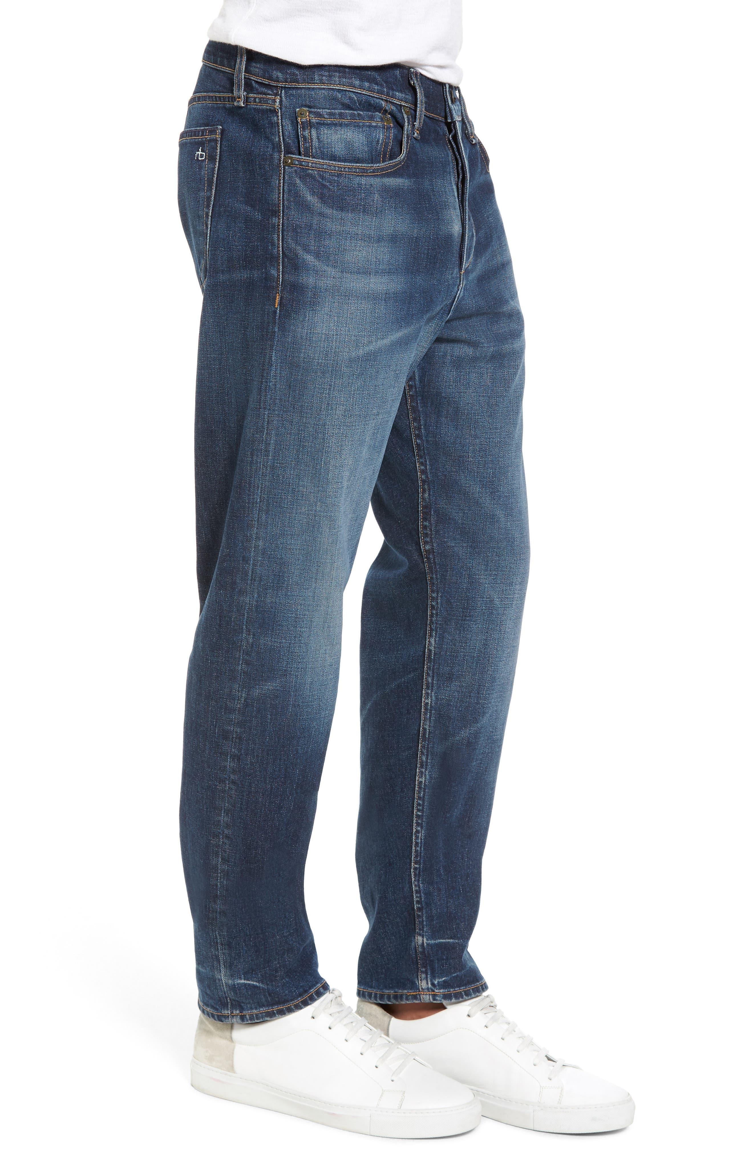 Fit 3 Slim Straight Leg Jeans,                             Alternate thumbnail 3, color,                             Linden