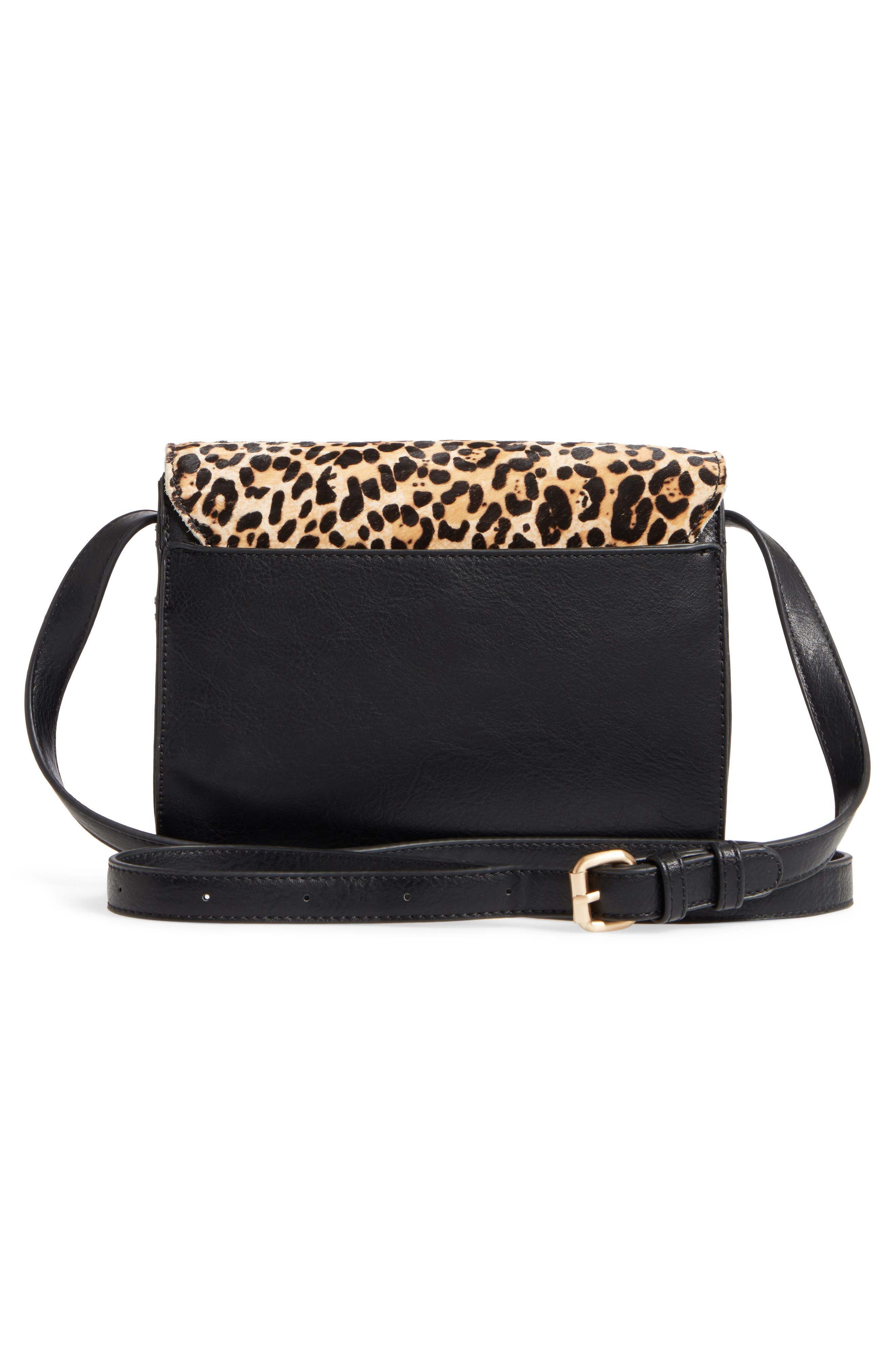 Alternate Image 3  - Sole Society Michelle Genuine Calf Hair Flap Crossbody Bag