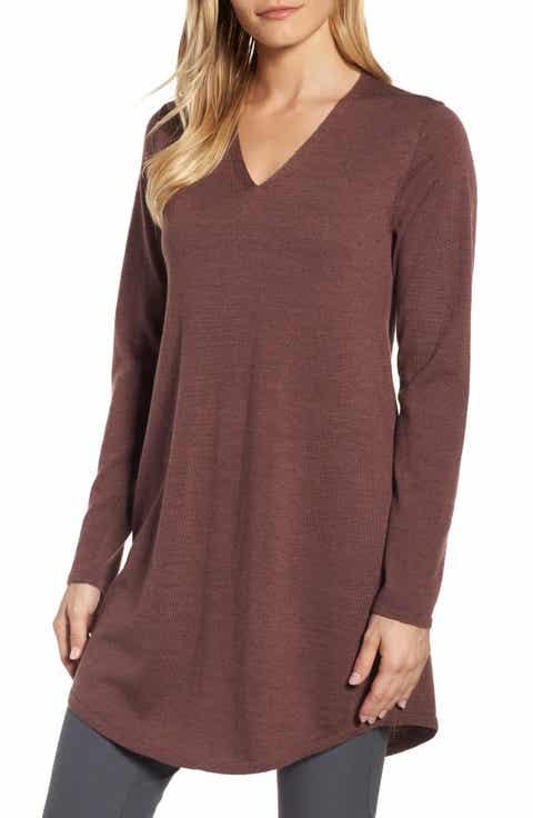 Women's Wool Tunic Sweaters   Nordstrom