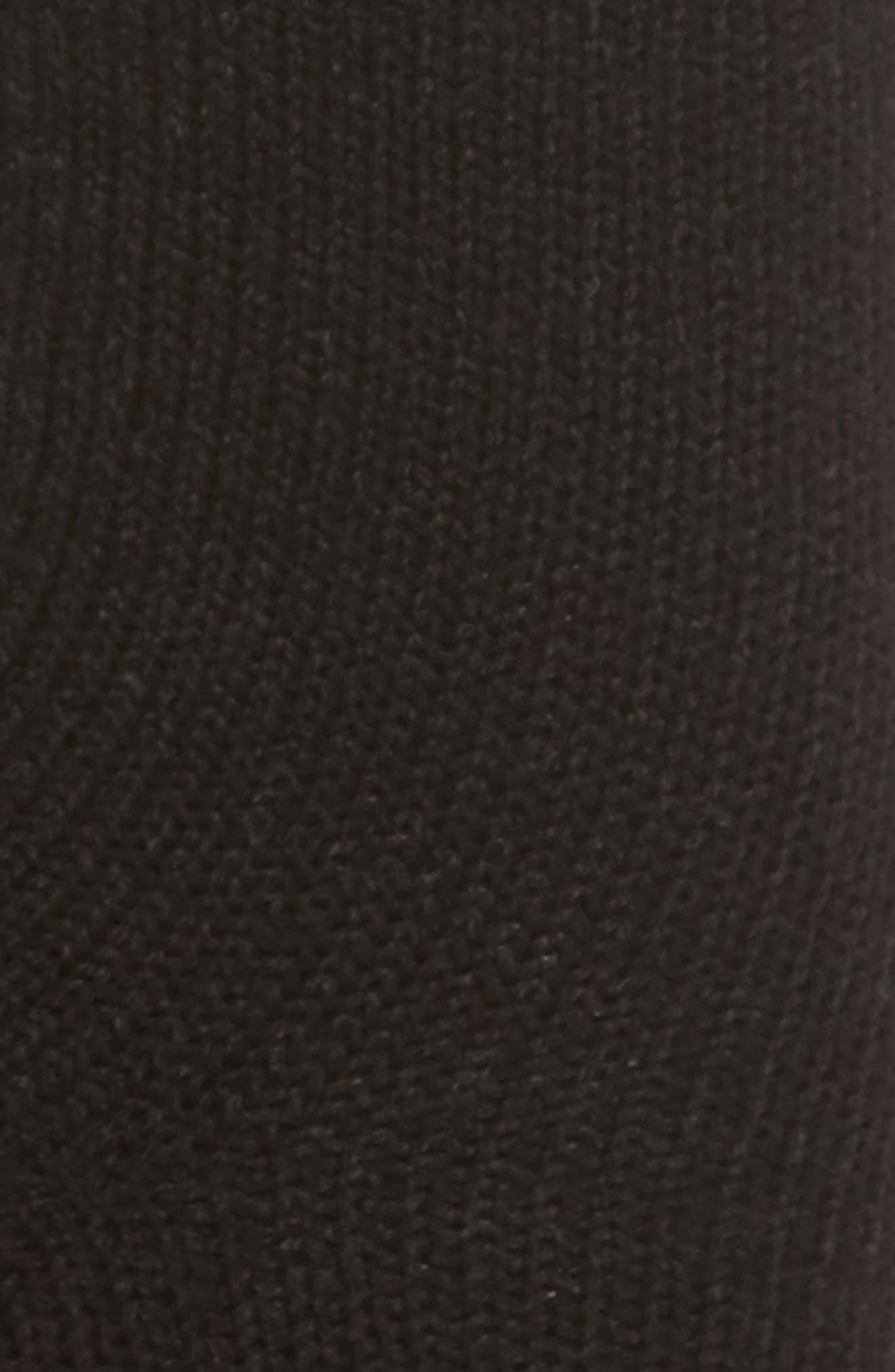 Butter Cuff Socks,                             Alternate thumbnail 2, color,                             Black