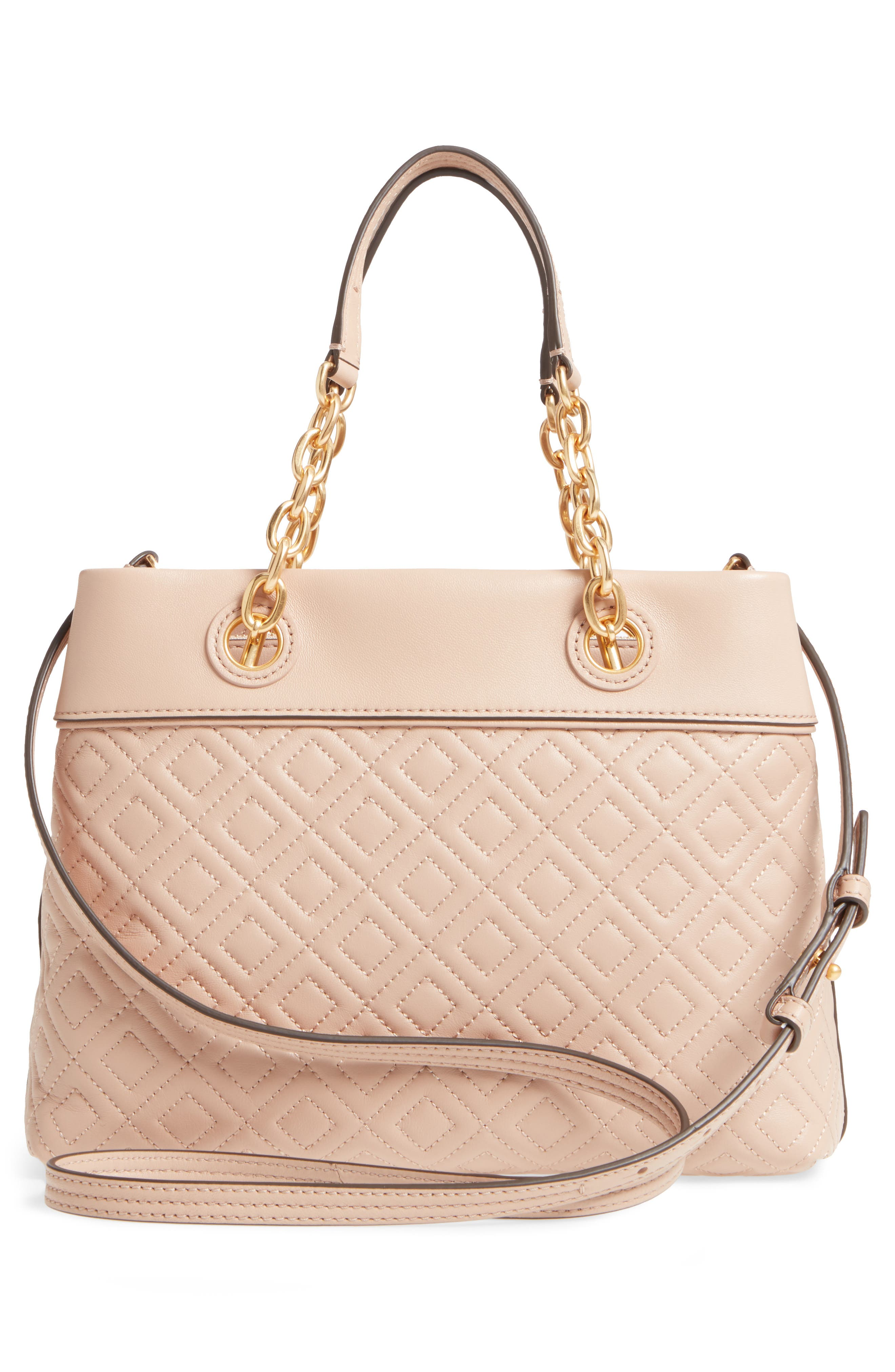Alternate Image 3  - Tory Burch Small Fleming Leather Tote