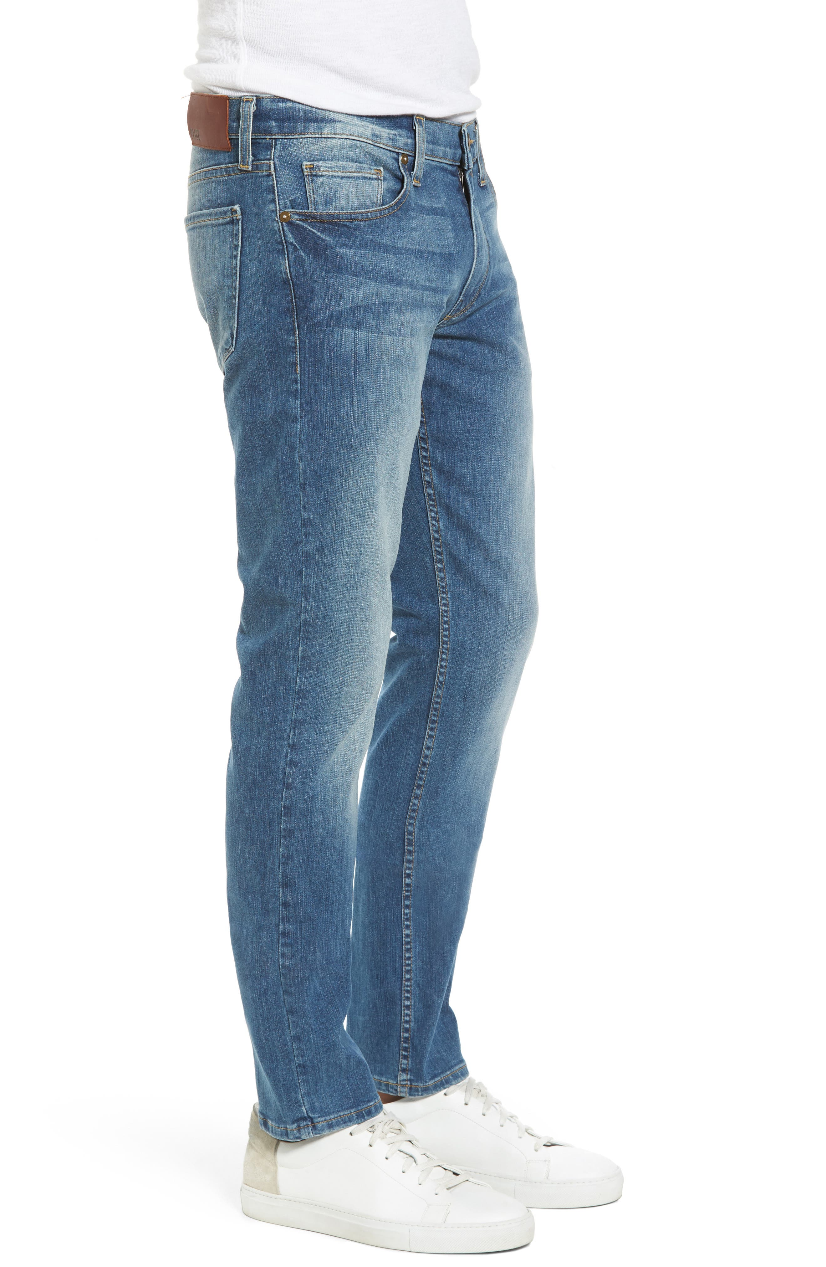 Alternate Image 3  - PAIGE Legacy - Lennox Slim Fit Jeans (Steele)