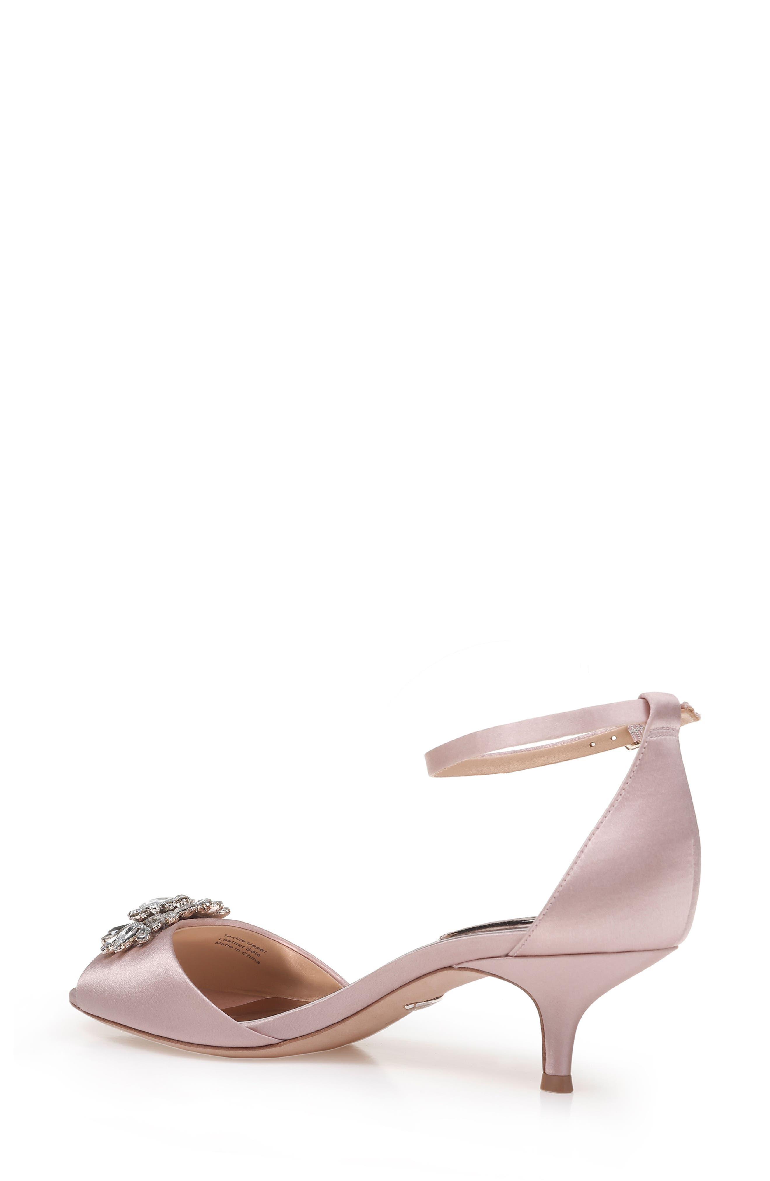 Alternate Image 2  - Badgley Mischka Sainte Crystal Embellished Sandal (Women)