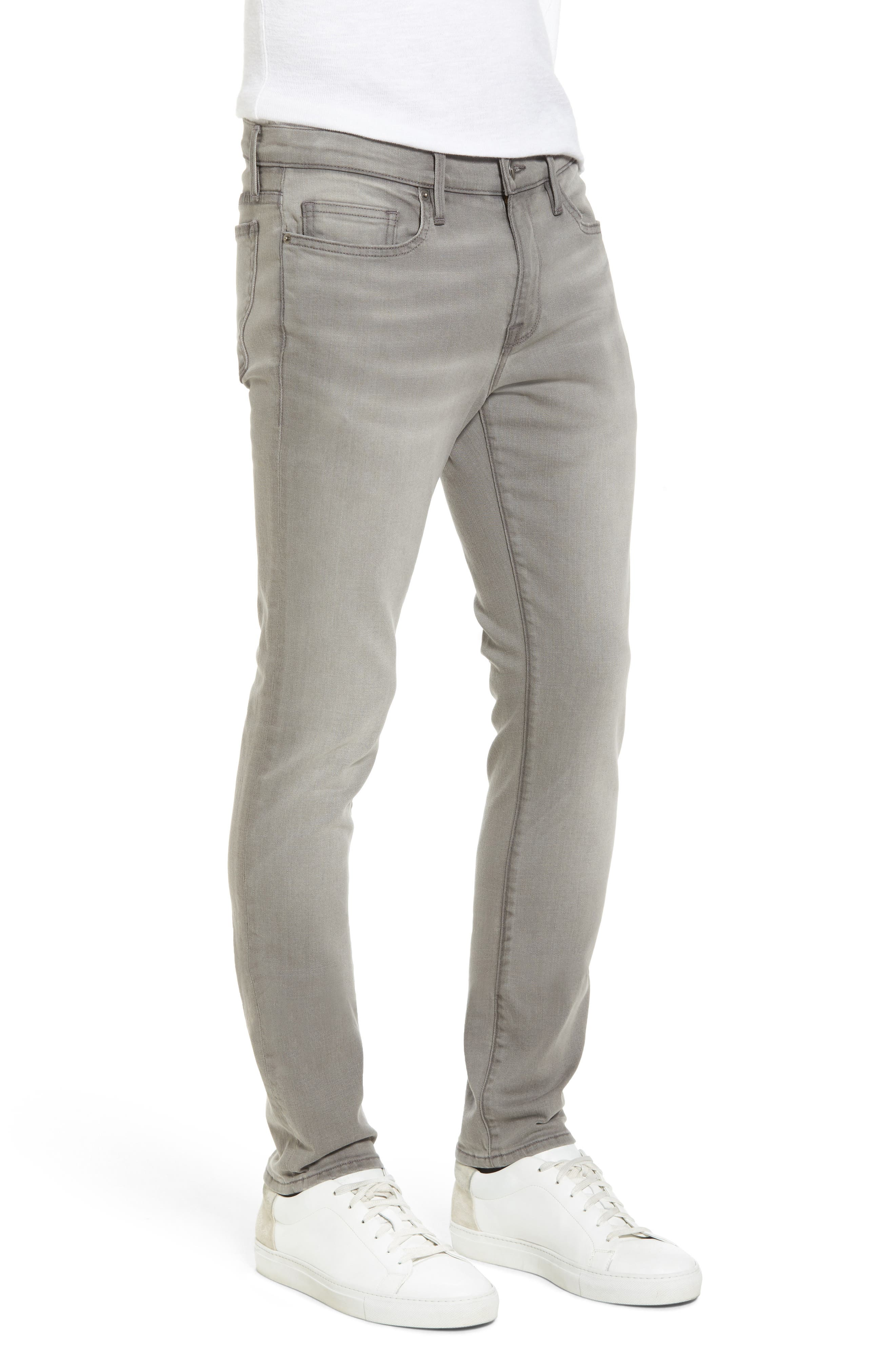 Alternate Image 3  - FRAME L'Homme Slim Fit Jeans (Vineway)