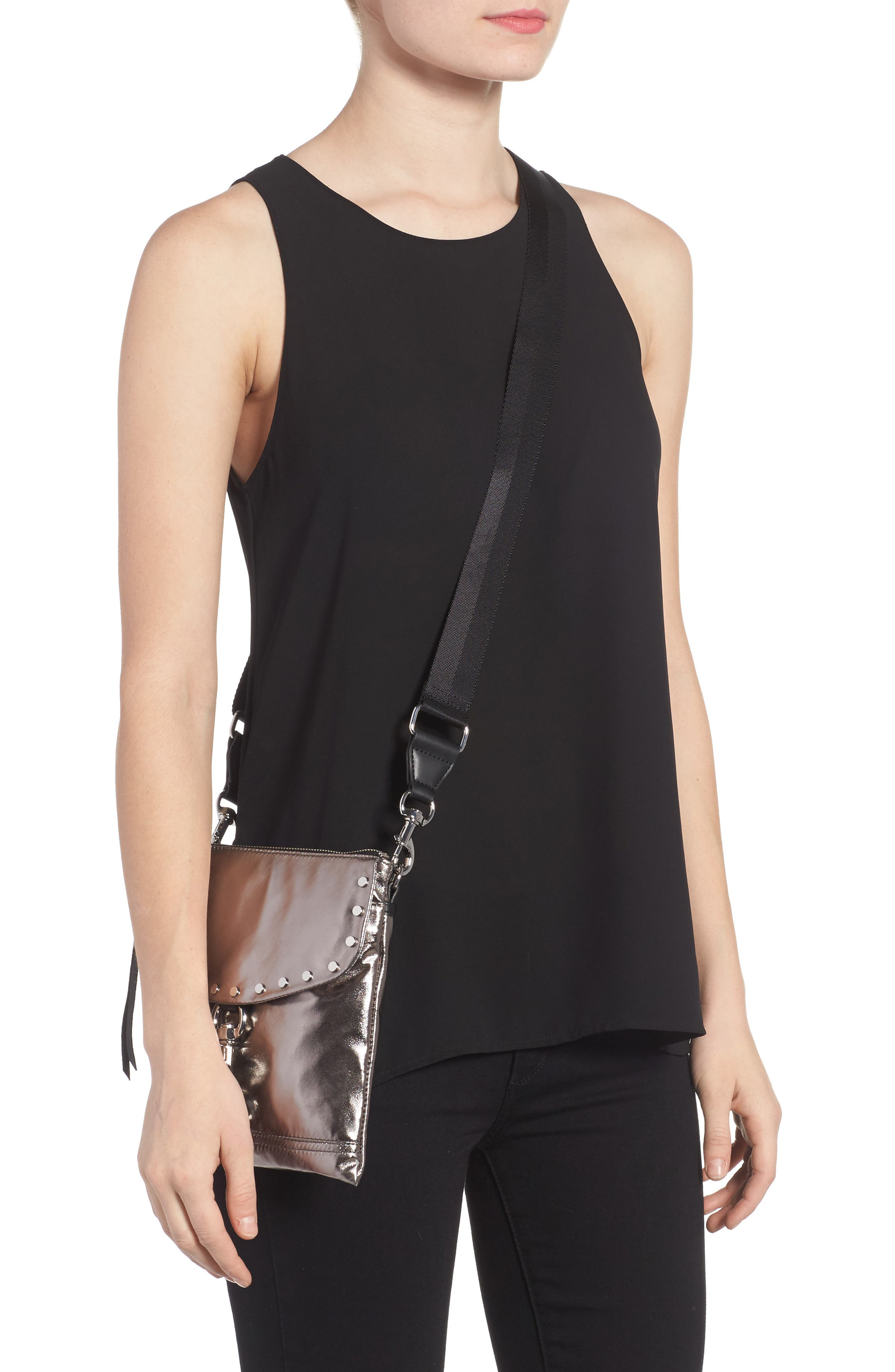 Alternate Image 2  - Rebecca Minkoff Nylon Flap Crossbody Bag