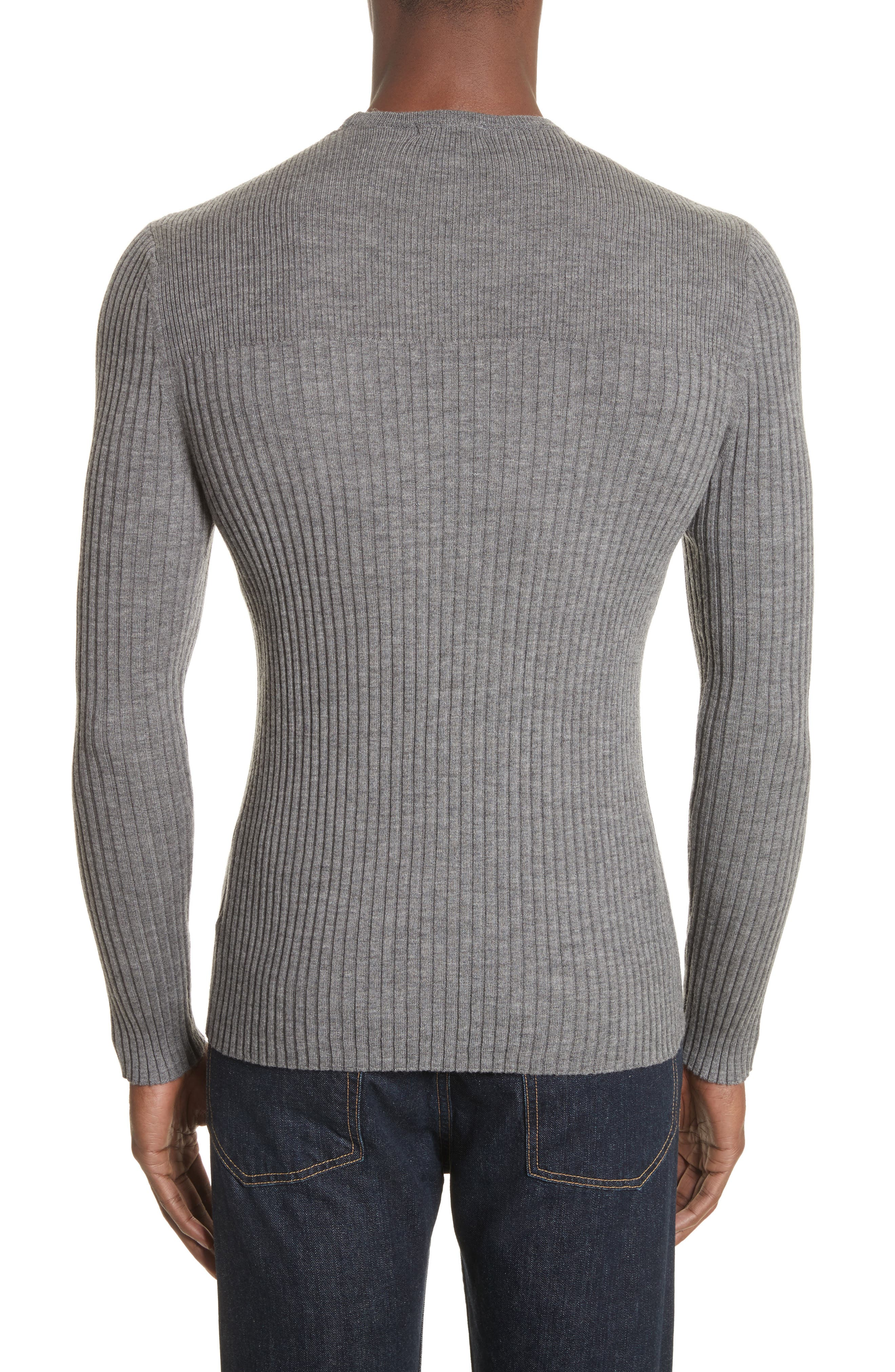Alternate Image 2  - ATM Anthony Thomas Melillo Merino Wool Sweater